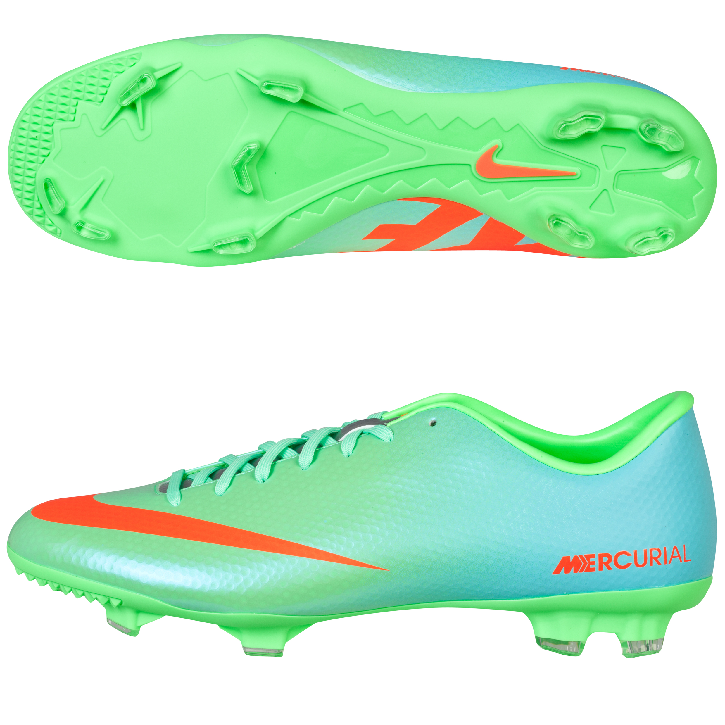 Nike Mercurial Victory IV Firm Ground Football Boots Green