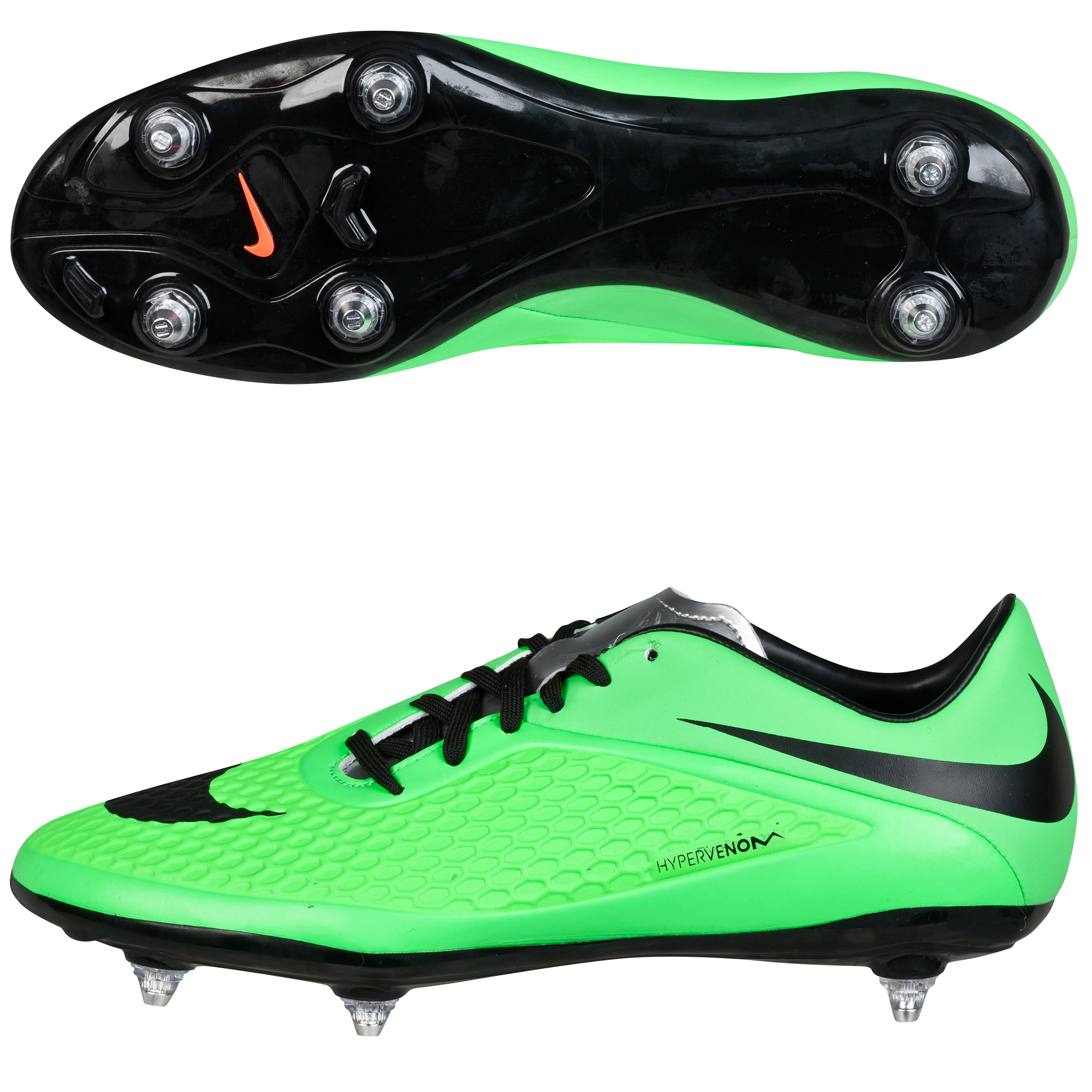 Nike Hypervenom Phatal Soft Ground Football Boots Green