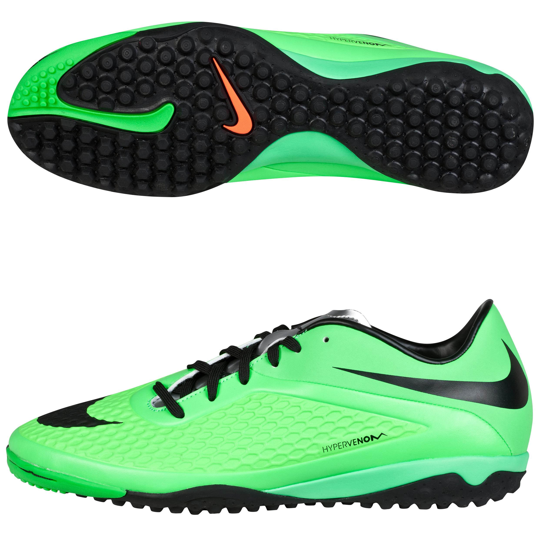 Nike Hypervenom Phelon Astroturf Trainers Green