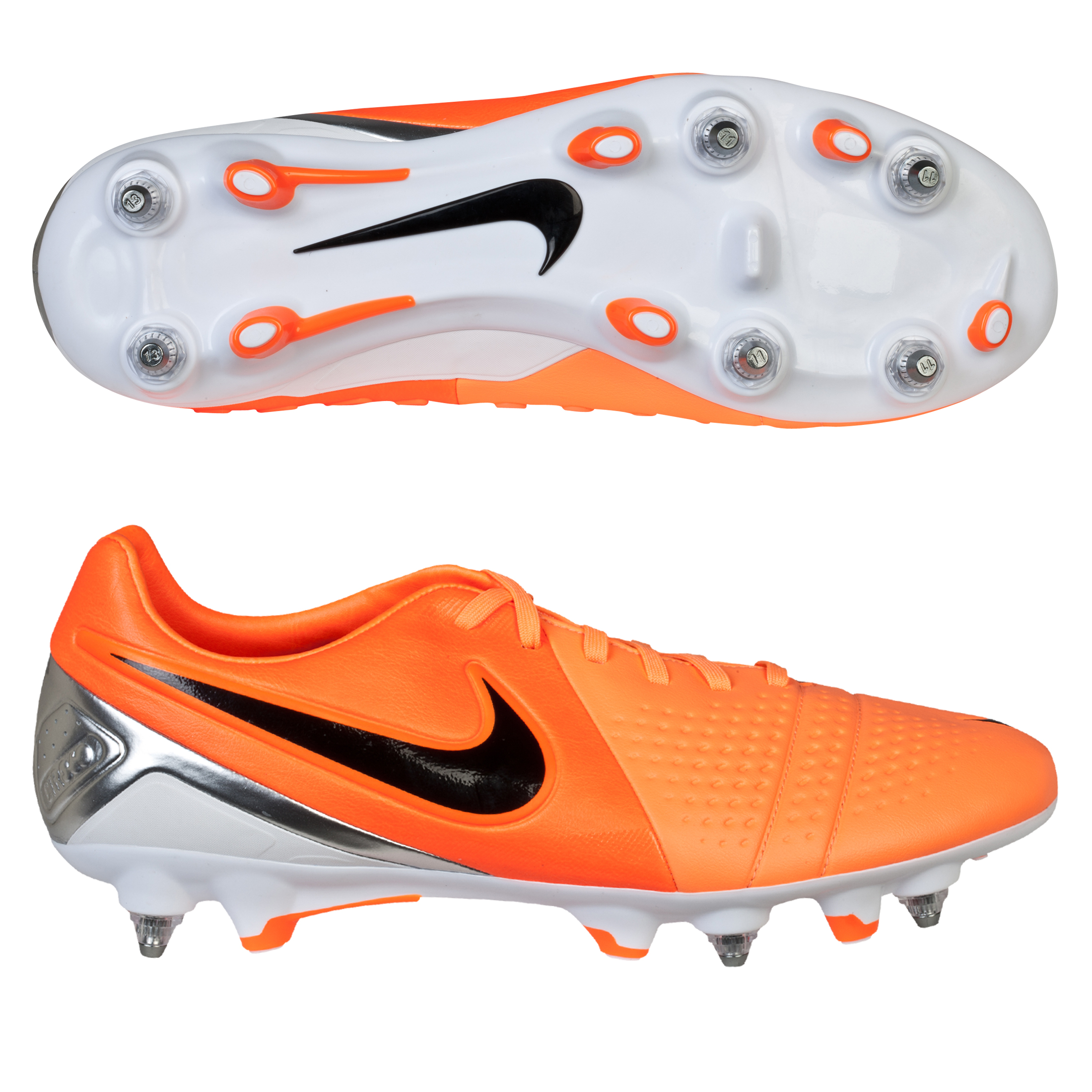 Nike CTR360 Trequartista III Soft Ground Football Boots Orange