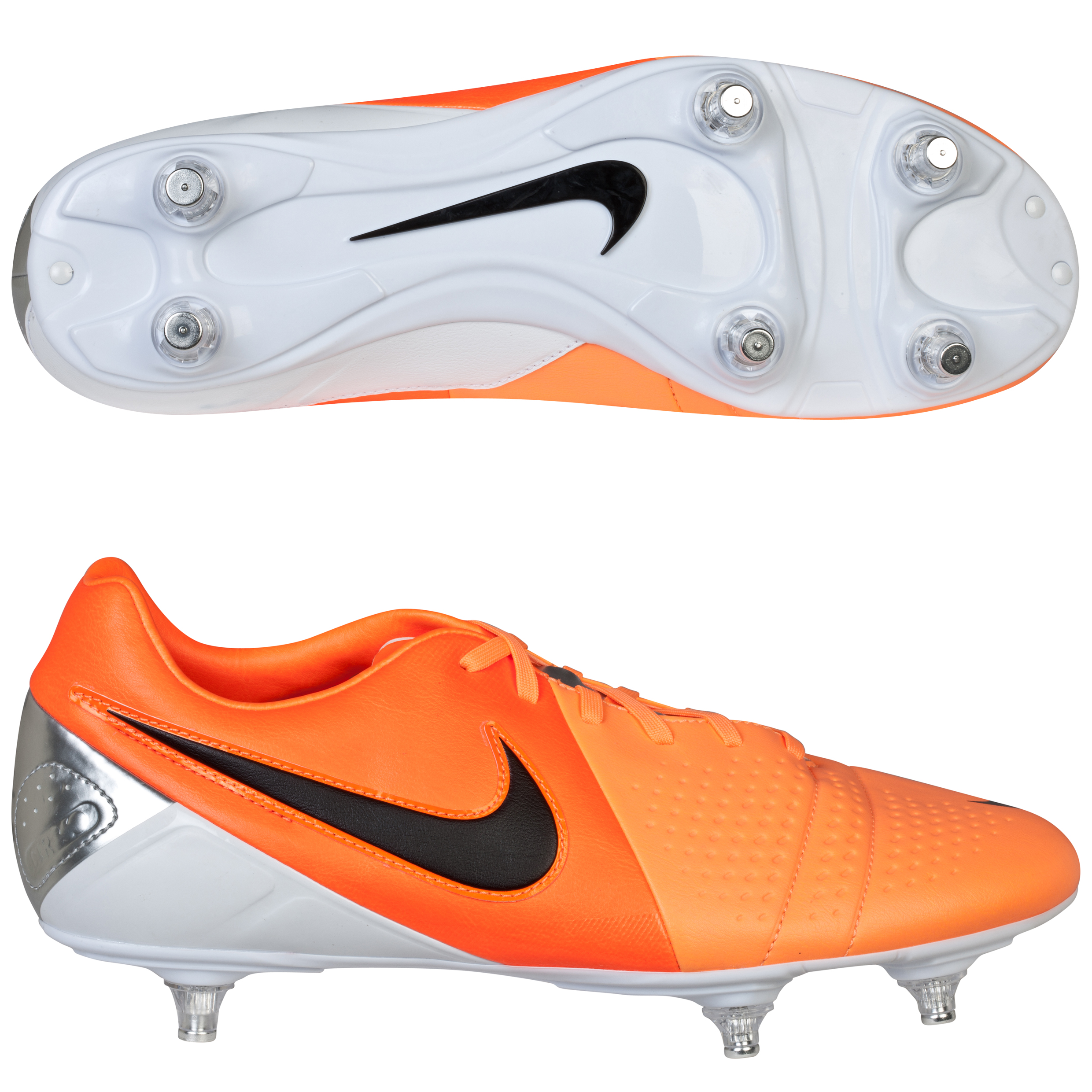 Nike CTR360 Libretto III Soft Ground Football Boots Orange