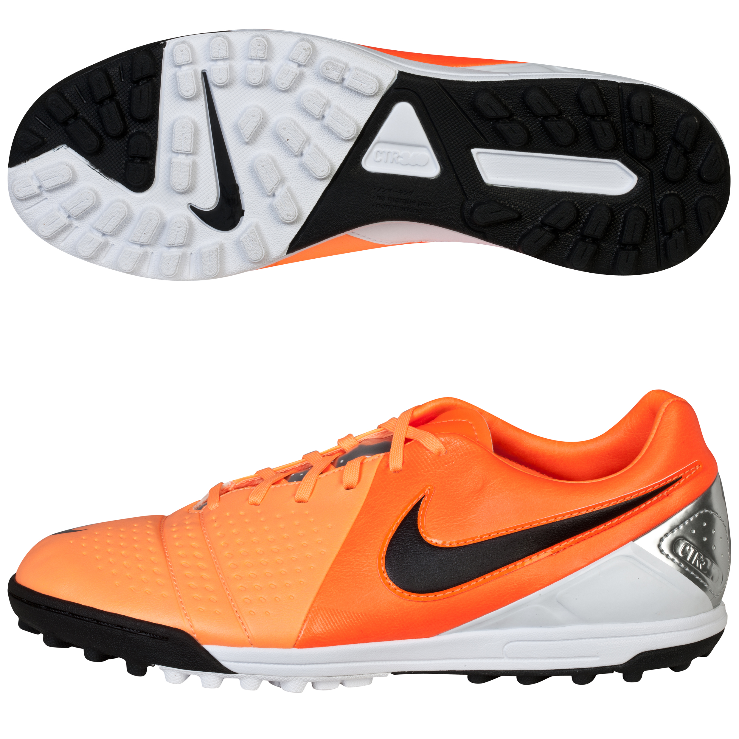 Nike CTR360 Libretto III Astroturf Trainers Orange