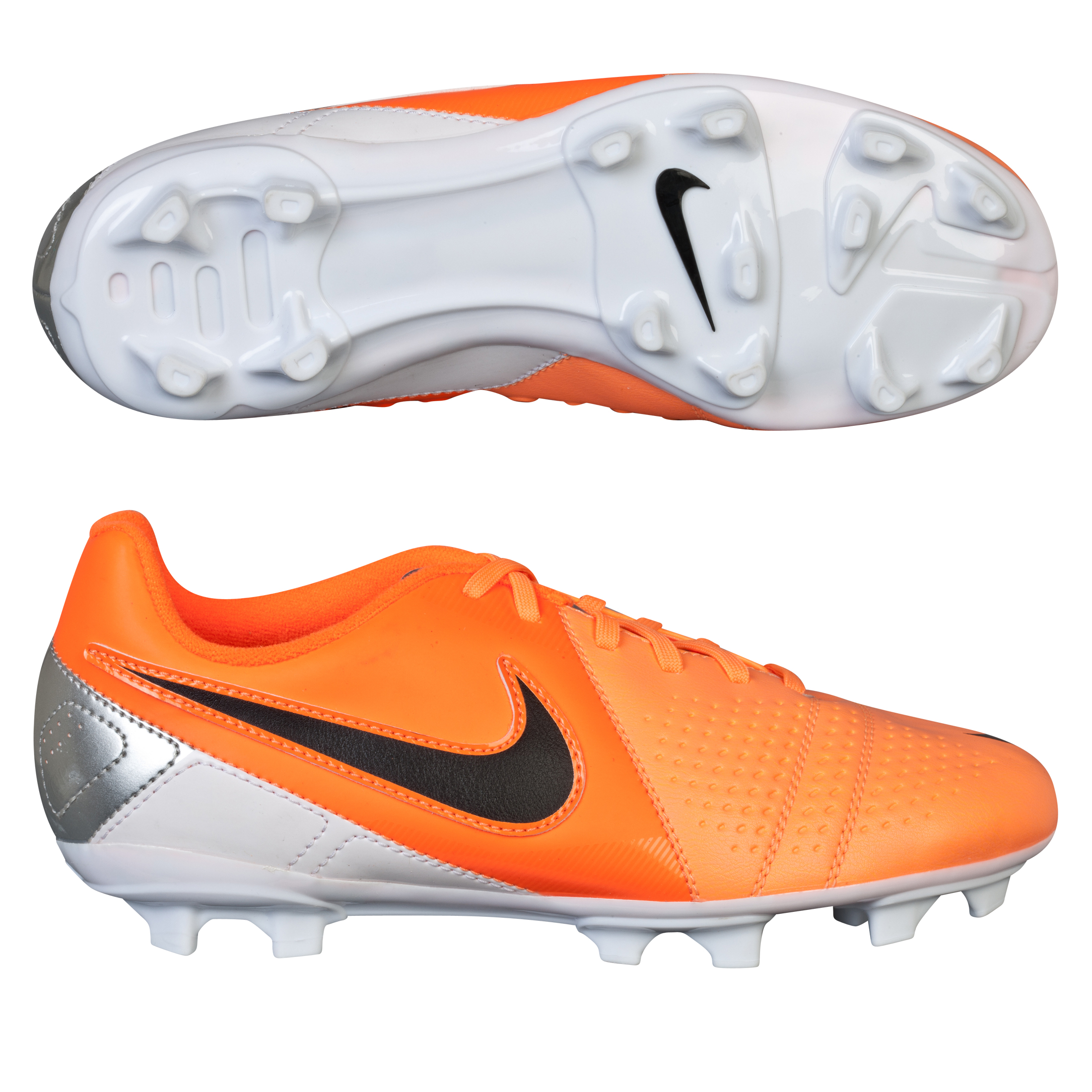 Nike CTR360 Libretto III Firm Ground Football Boots - Kids Orange