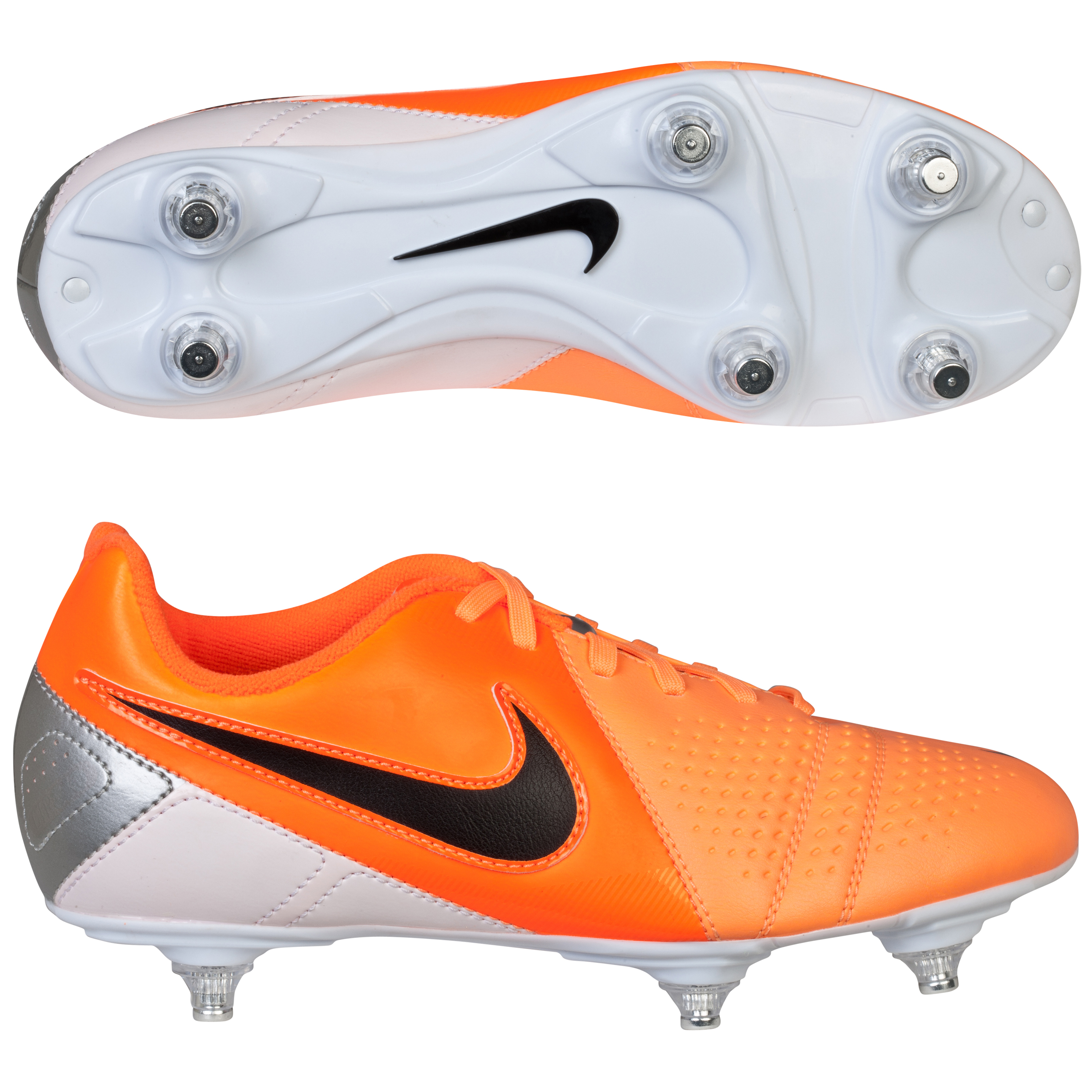 Nike CTR360 Libretto III Soft Ground Football Boots - Kids Orange