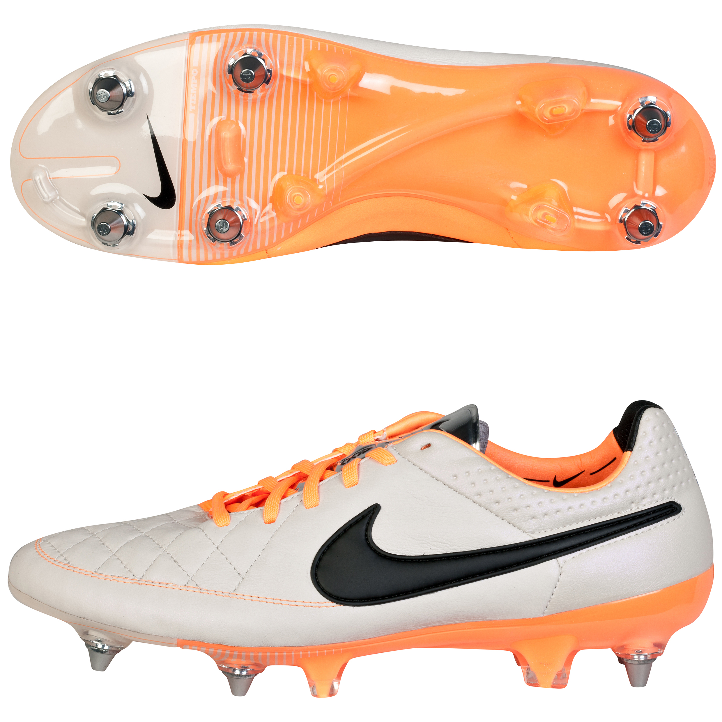 Nike Tiempo Legend V Soft Ground Pro Football Boots Beige