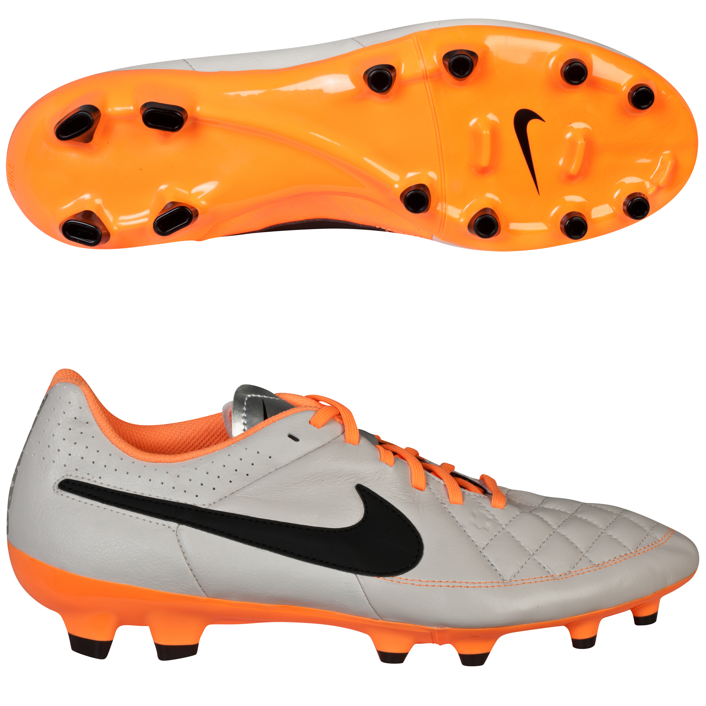 Nike Tiempo Genio Firm Ground Football Boots Beige