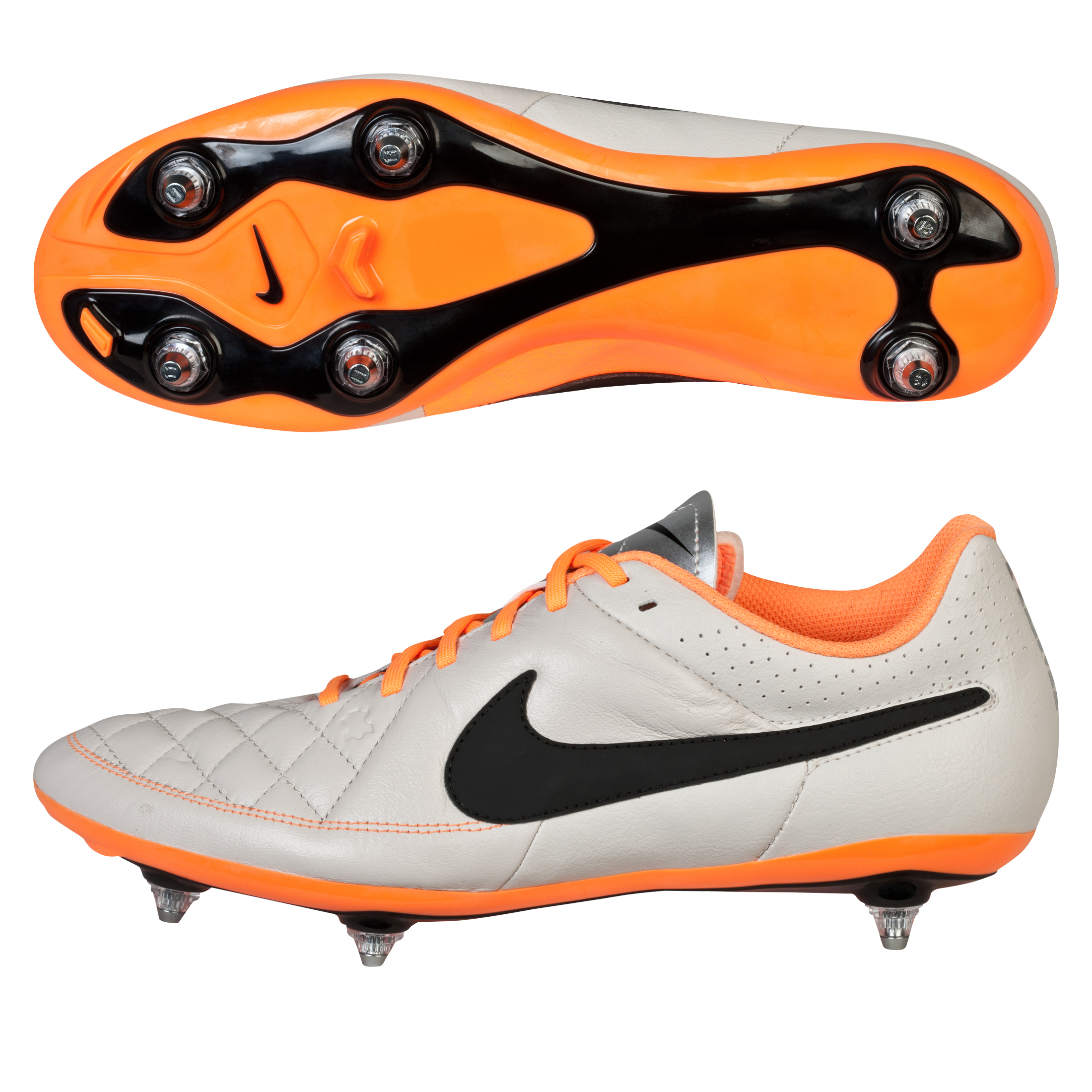 Nike Tiempo Genio Soft Ground Football Boots Beige