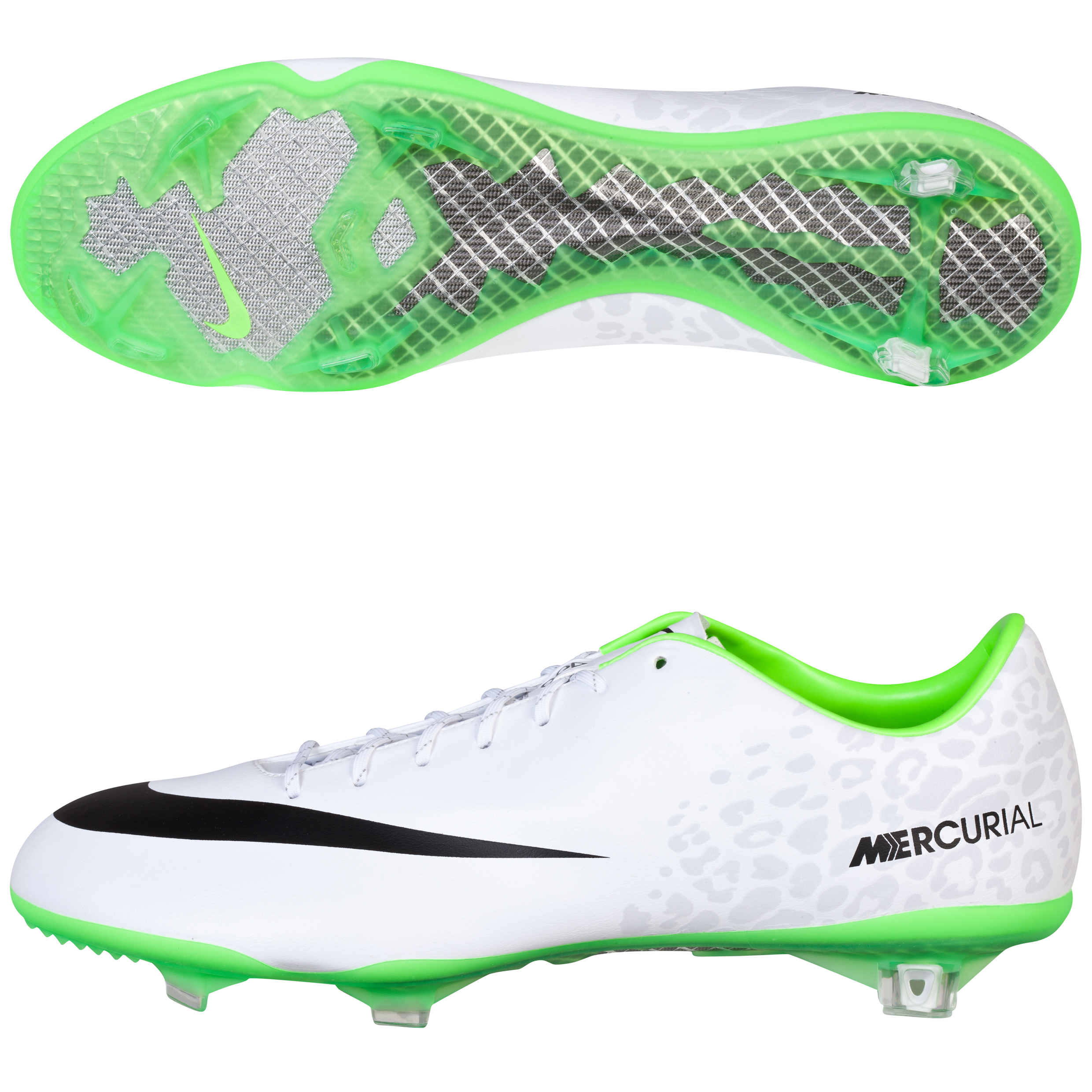 Nike Mercurial Vapor IX Firm Ground Football Boots White