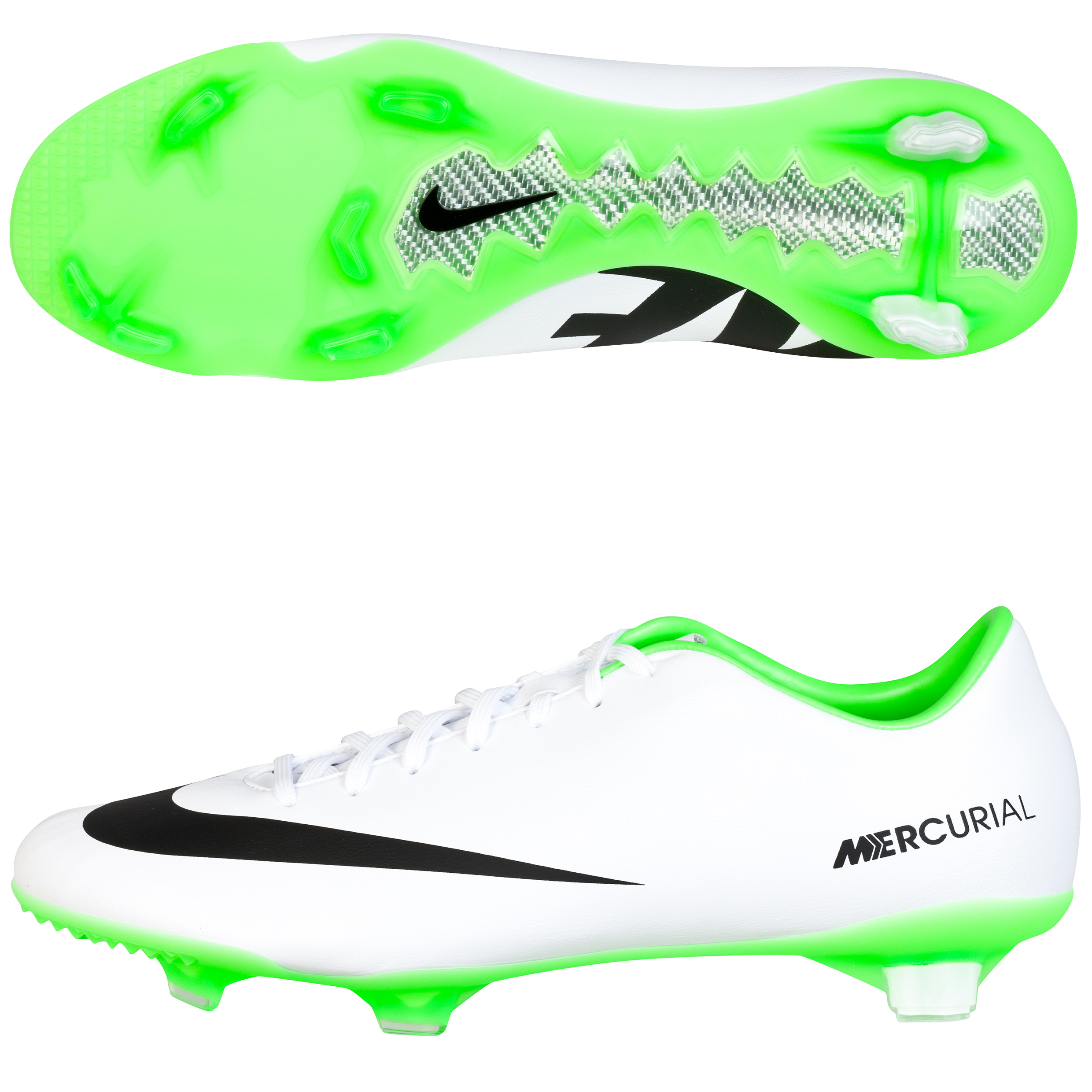 Nike Mercurial Veloce Firm Ground Football Boots White