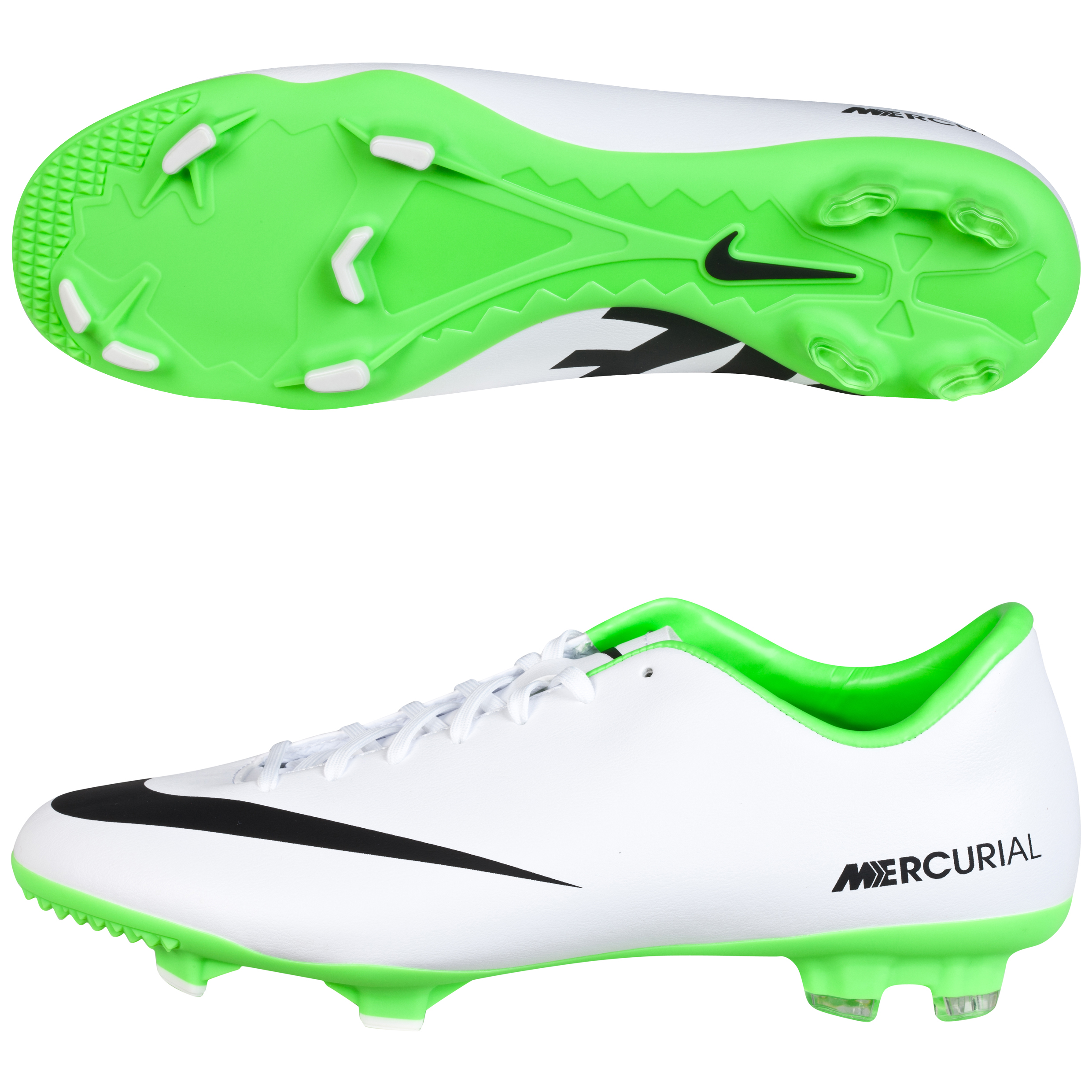 Nike Mercurial Victory IV Firm Ground Football Boots White