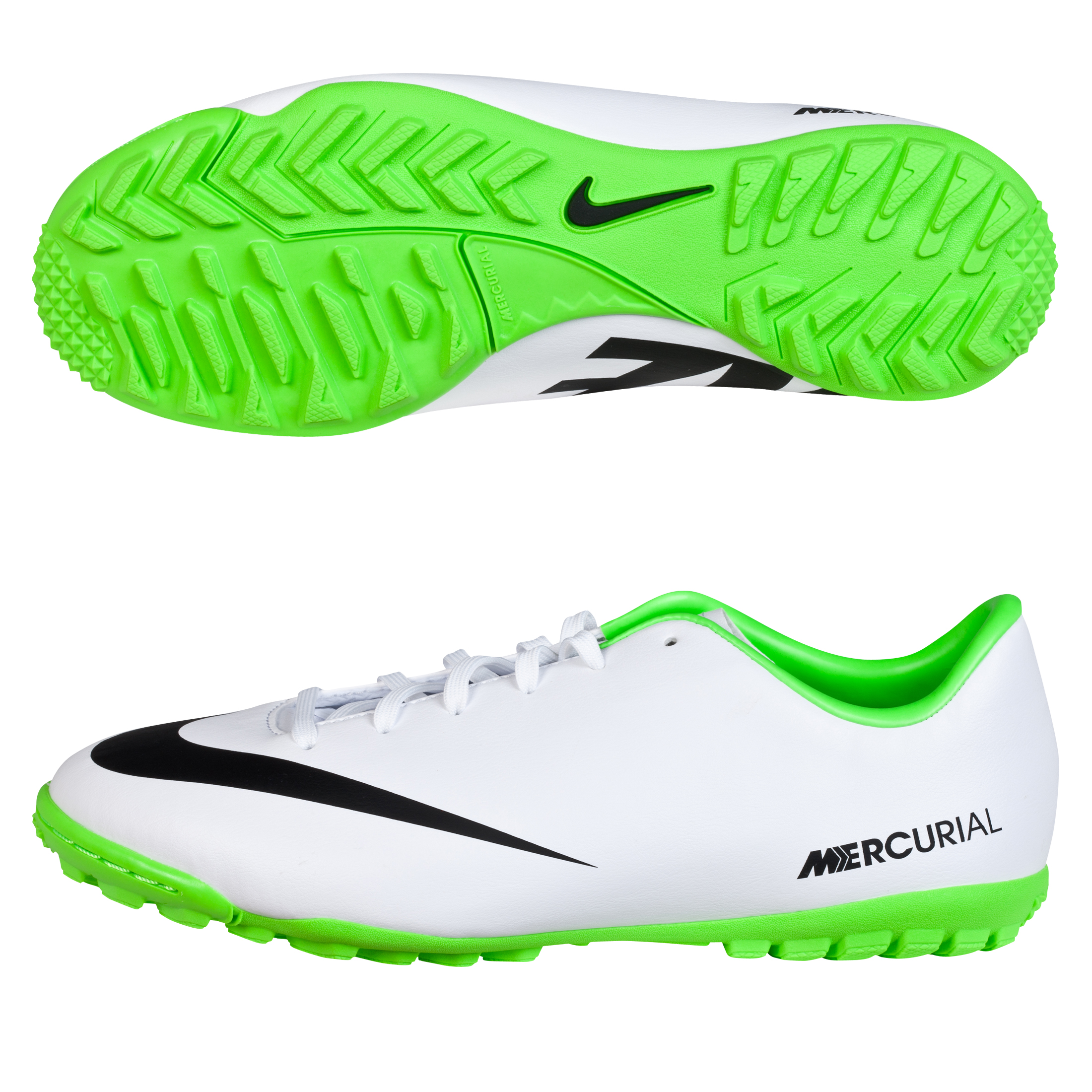 Nike Mercurial Victory IV Astroturf Trainers - Kids White