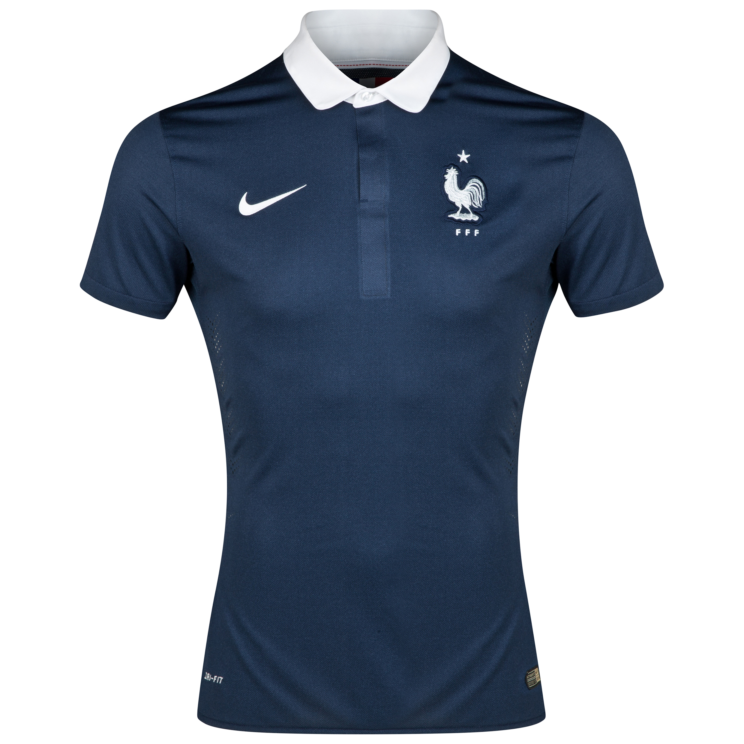 France Match Home Shirt 2013/15 Navy