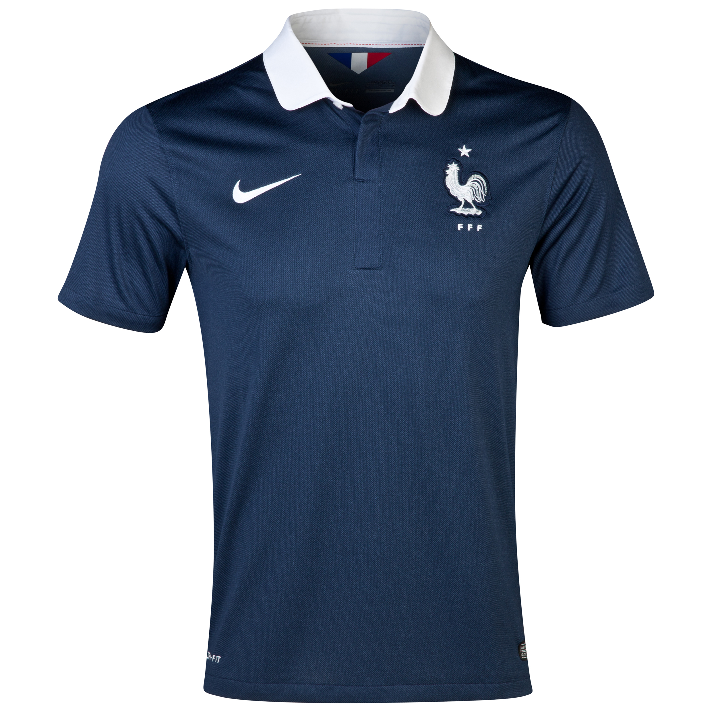 France Home Shirt 2013/15 - Kids Navy