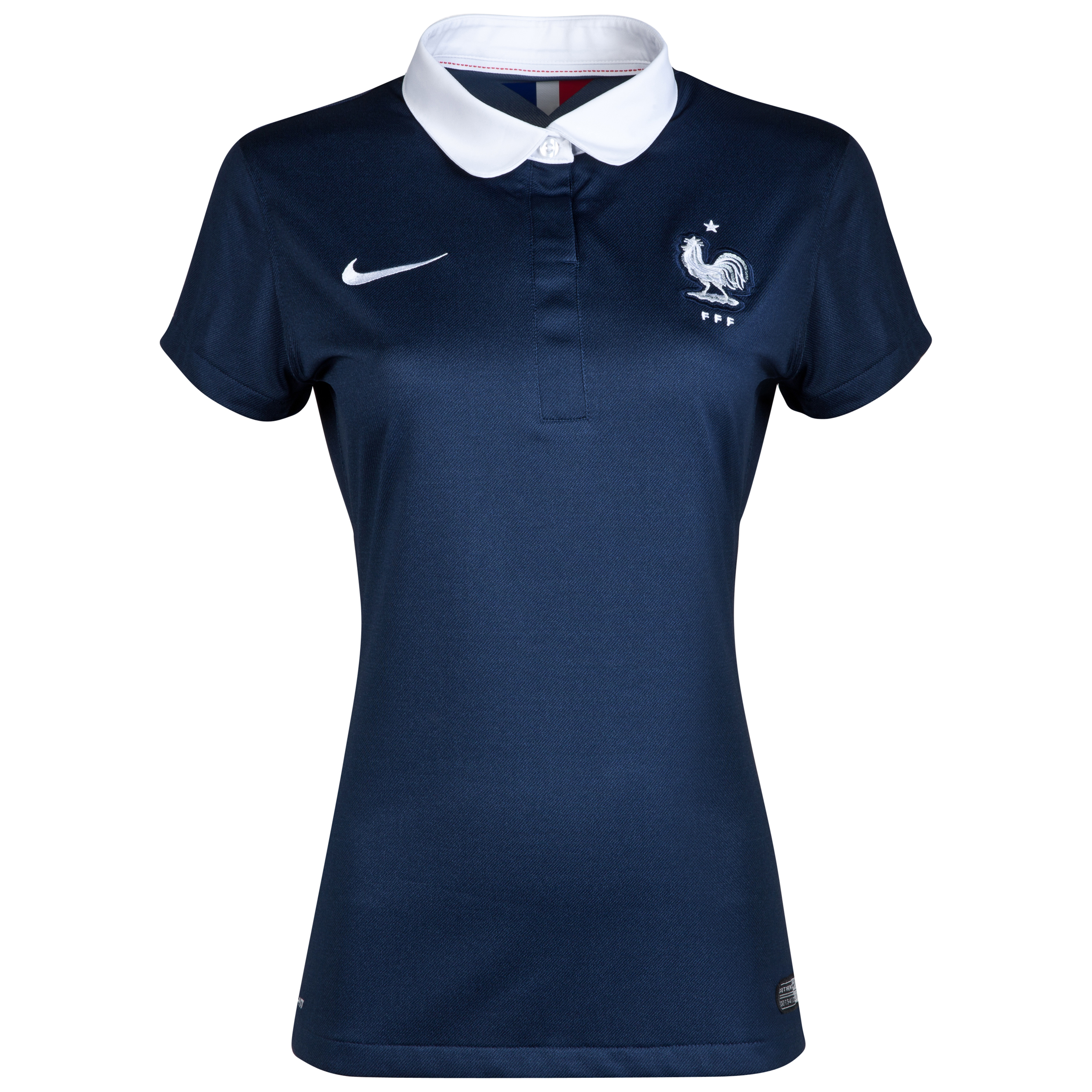 France Home Shirt 2013/15 - Womens Navy