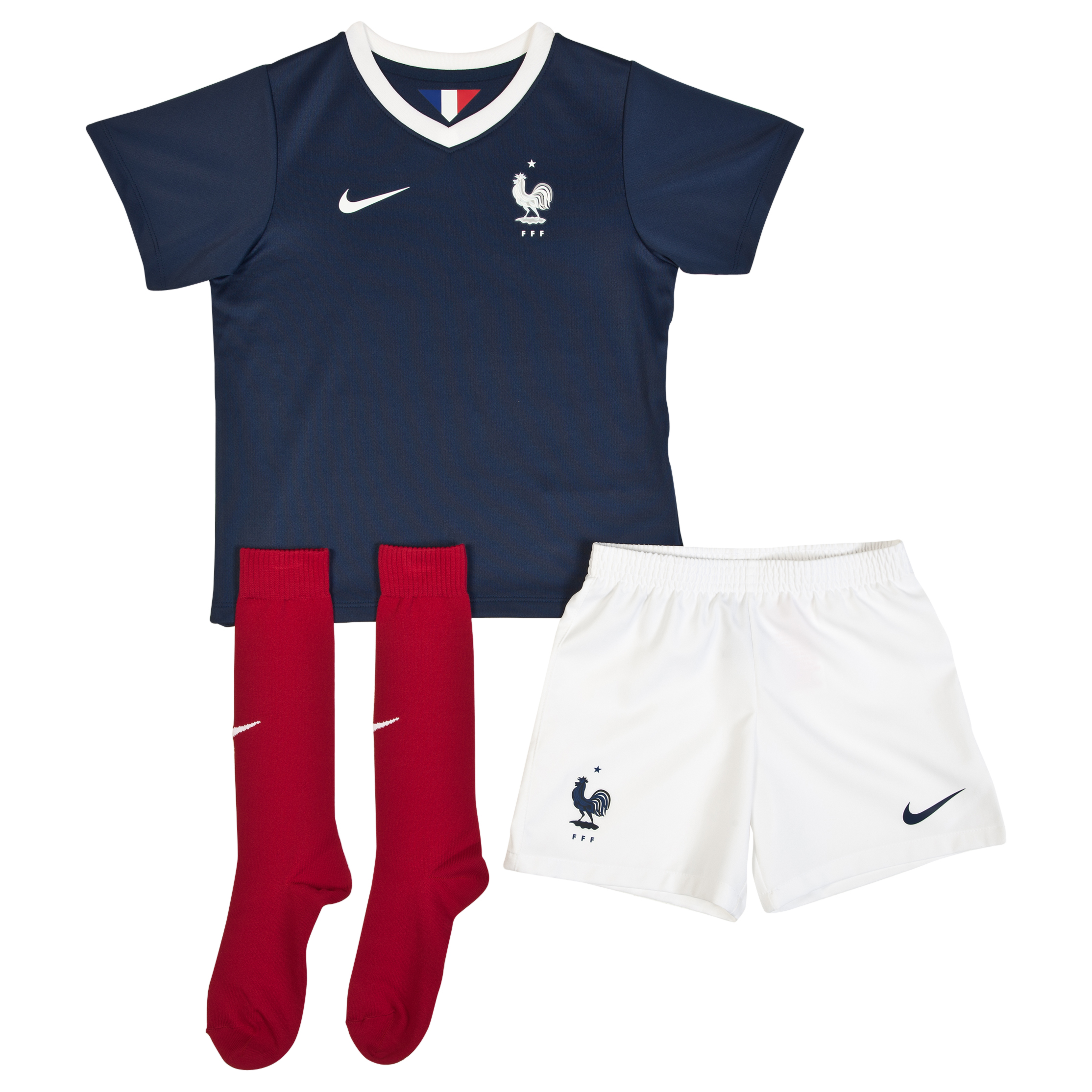 France Home Kit 2013/15 - Little Boys Navy
