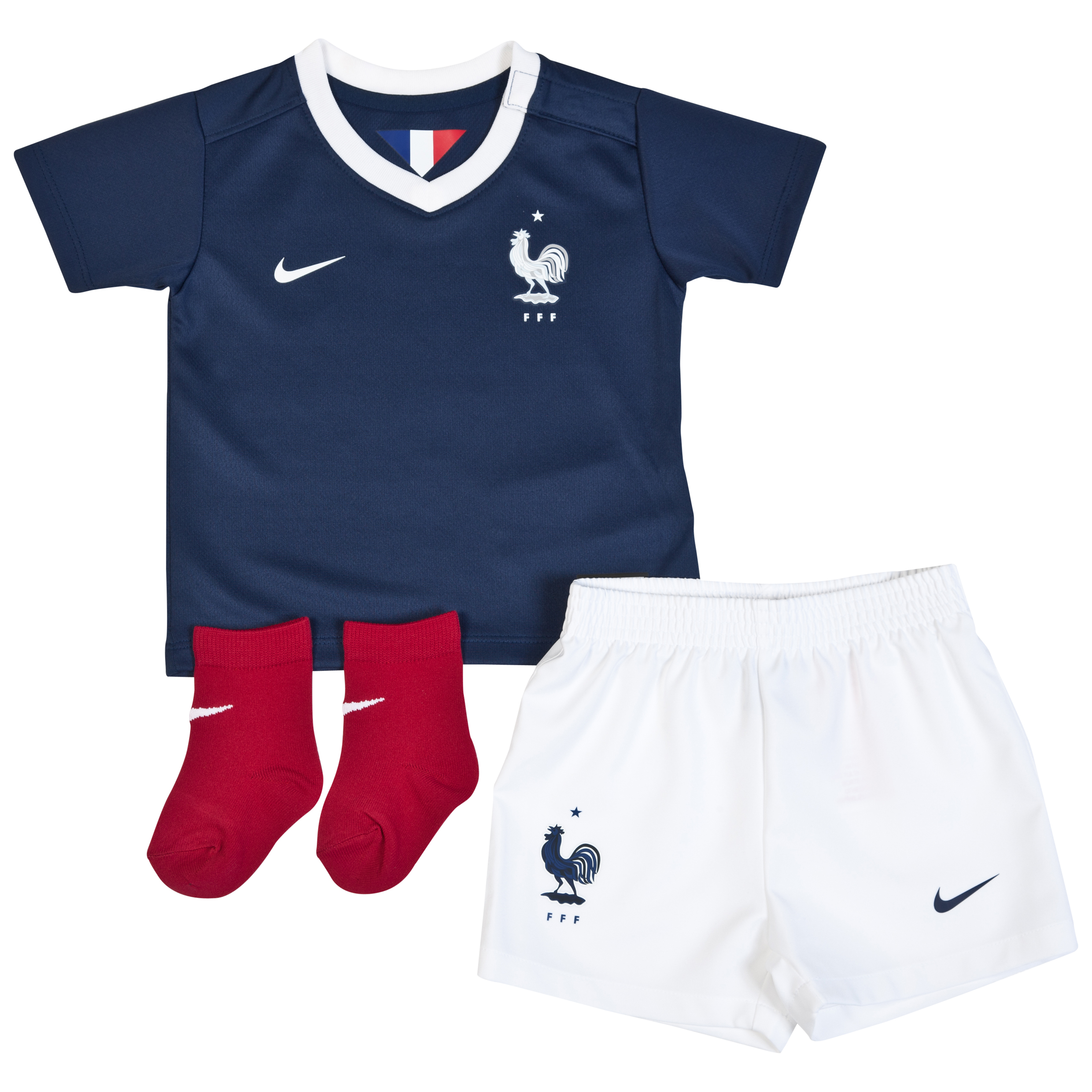France Home Kit 2013/15 - Infants Navy