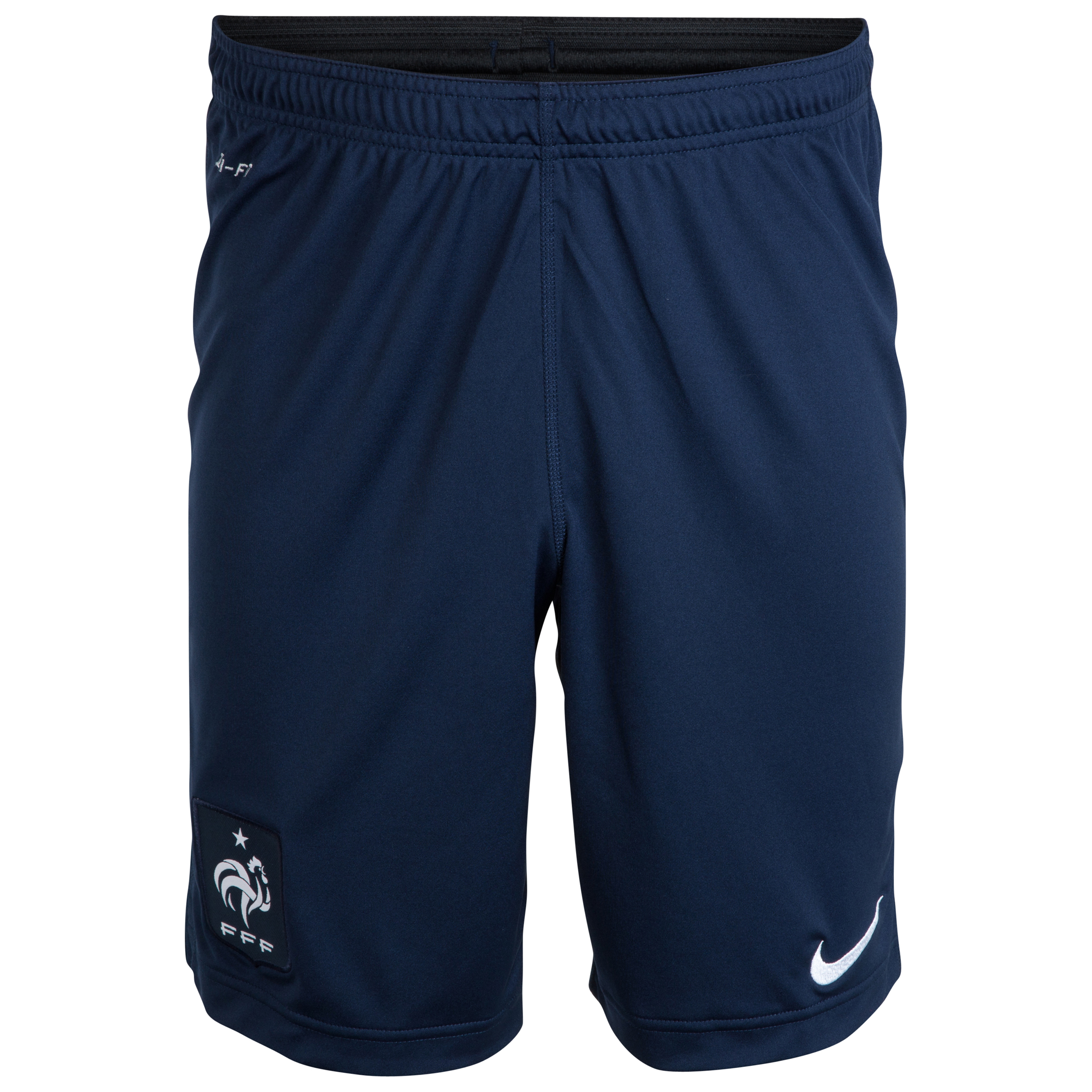 France Squad Longer Knit Shorts Navy
