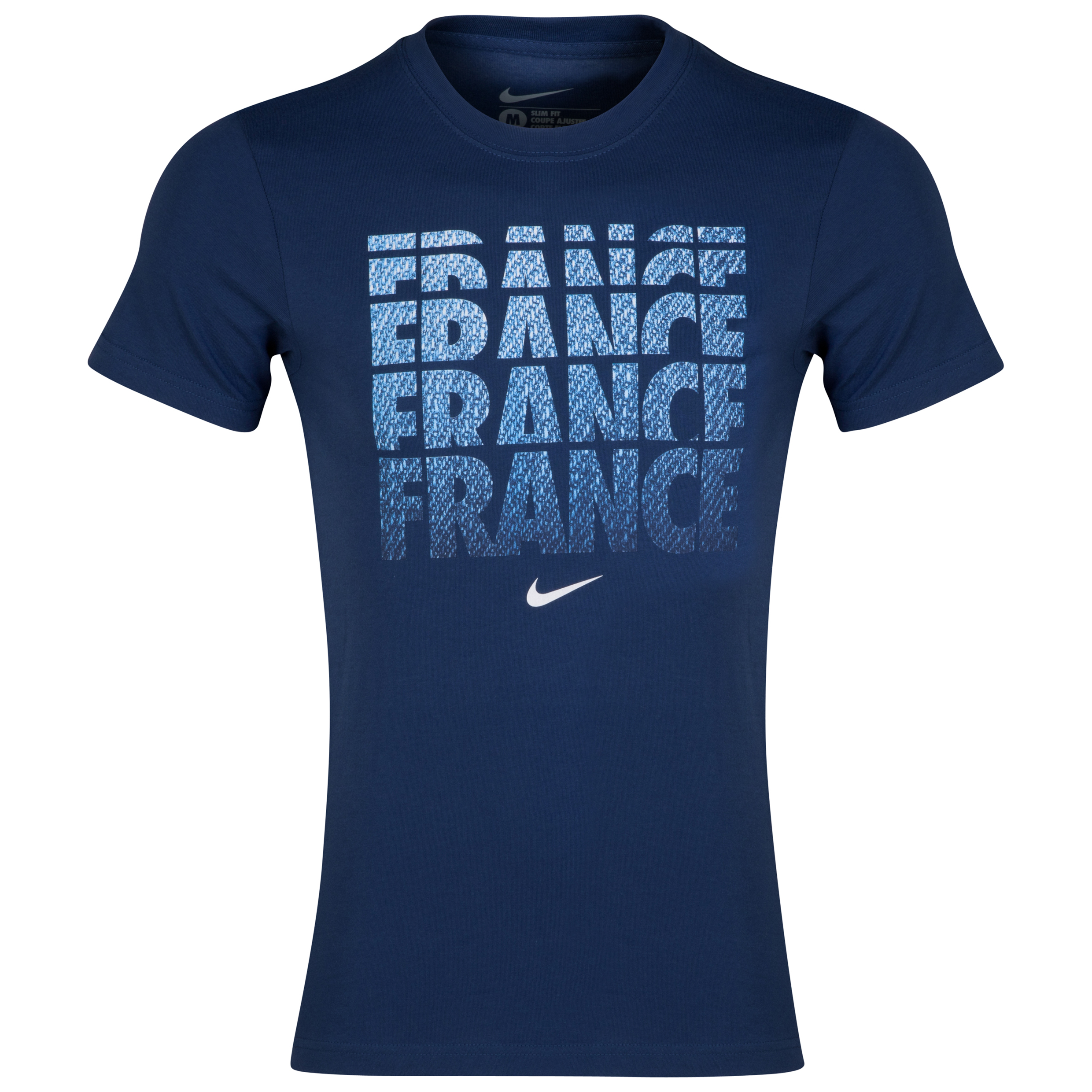 France Core Type T-Shirt Navy