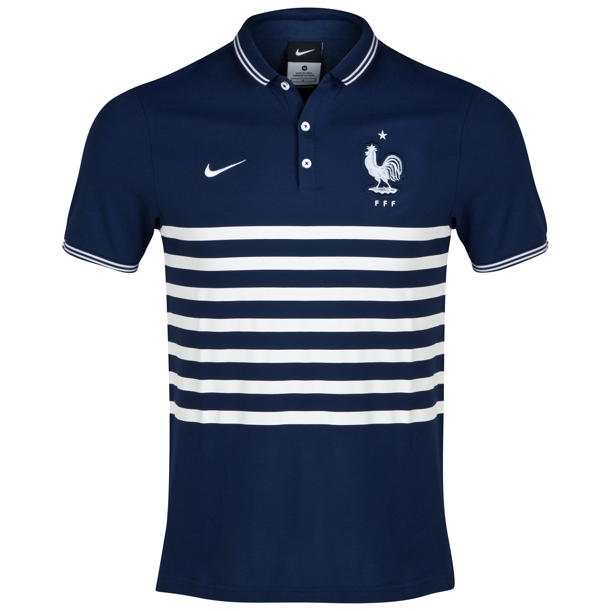 France Authentic League Polo Navy