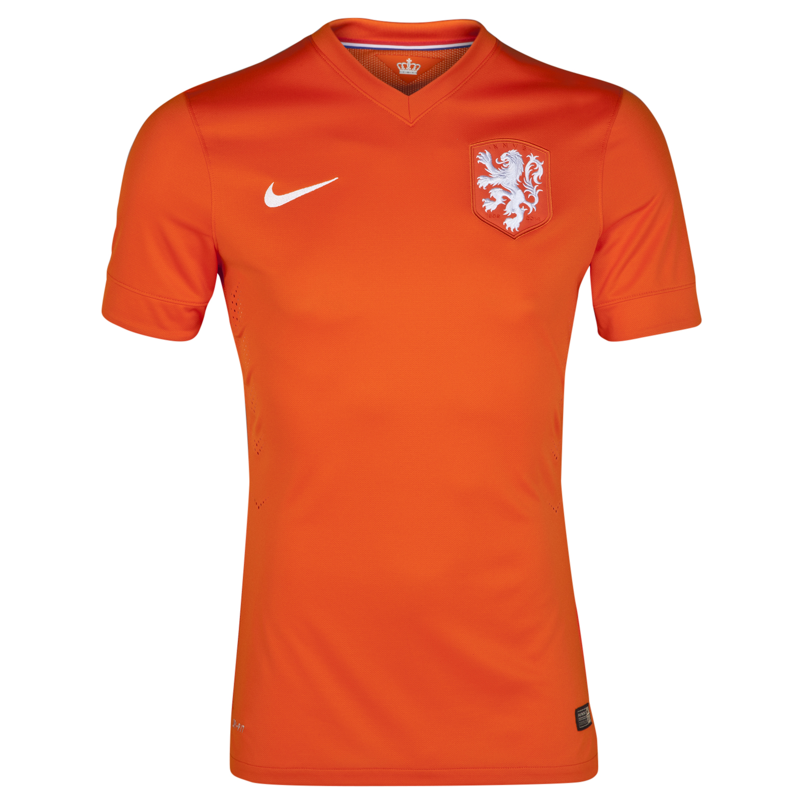 Netherlands Match Home Shirt 2014/15 Orange