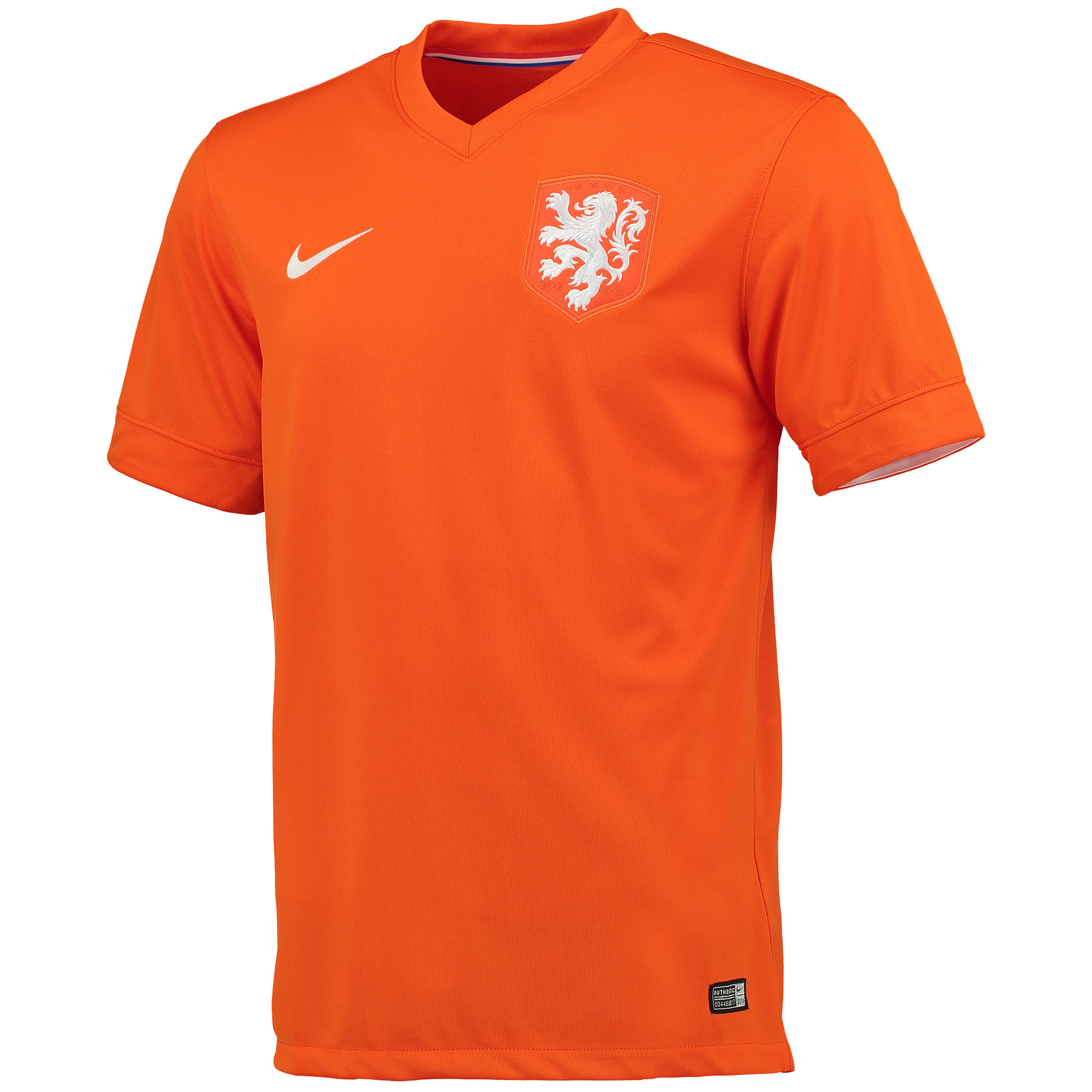 Netherlands Home Shirt 2014/15 Orange