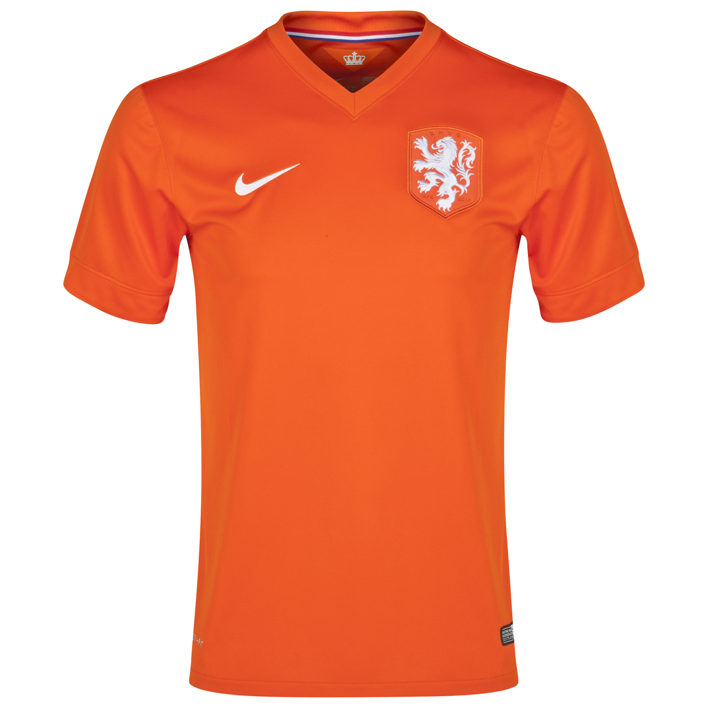 Netherlands Home Shirt 2014/15 - Kids Orange