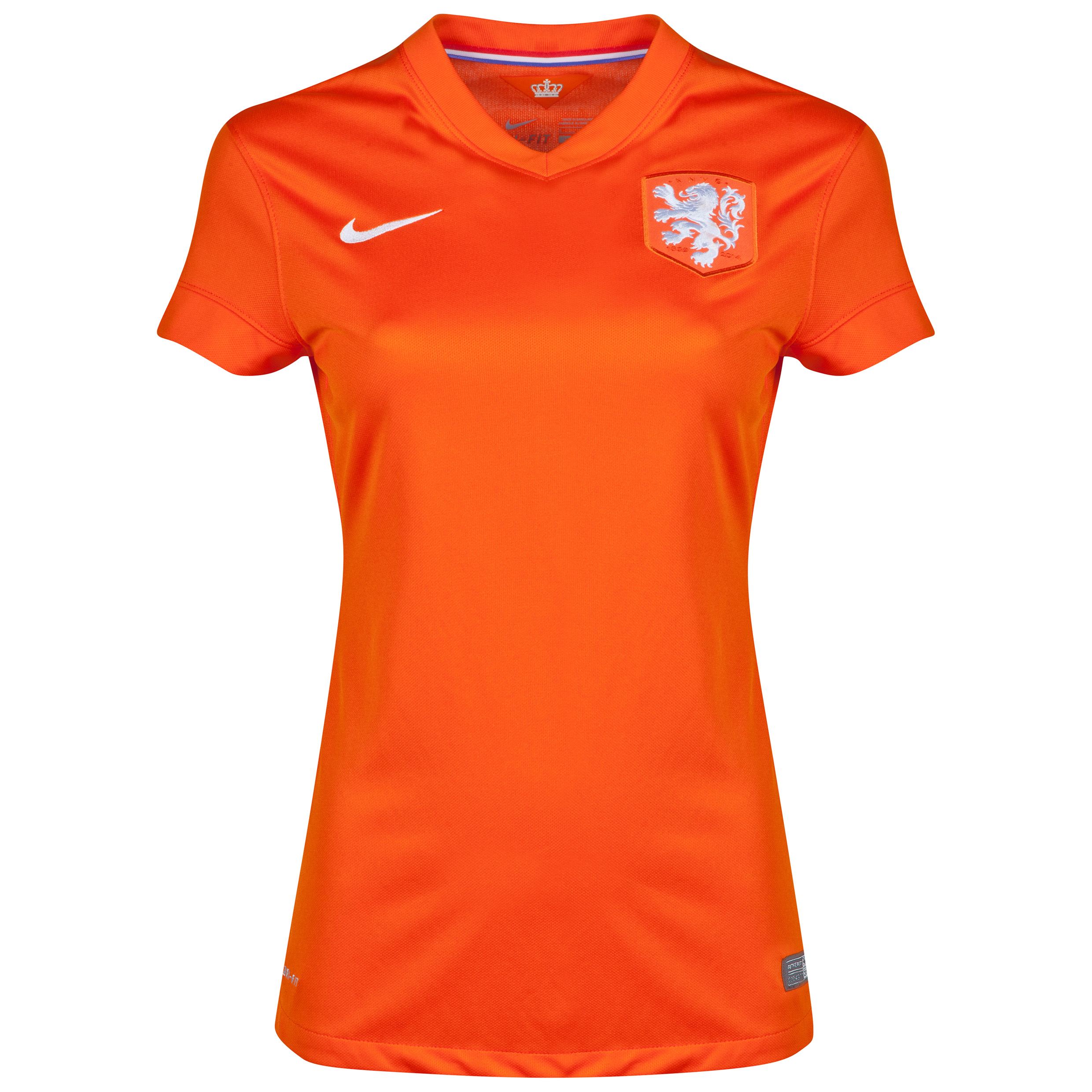 Netherlands Home Shirt 2014/15 - Womens Orange