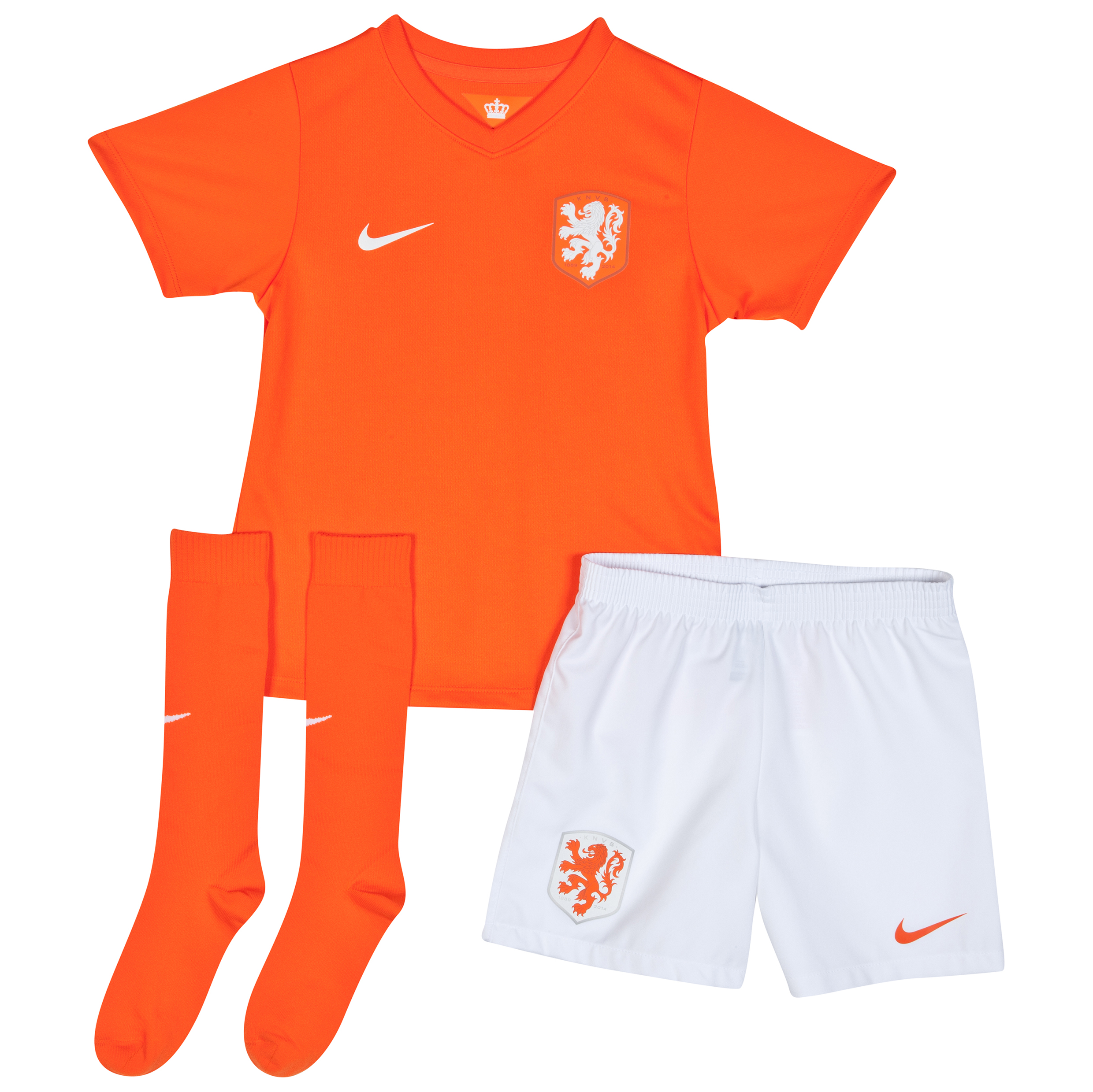 Netherlands Home Kit 2014/15 - Little Boys Orange