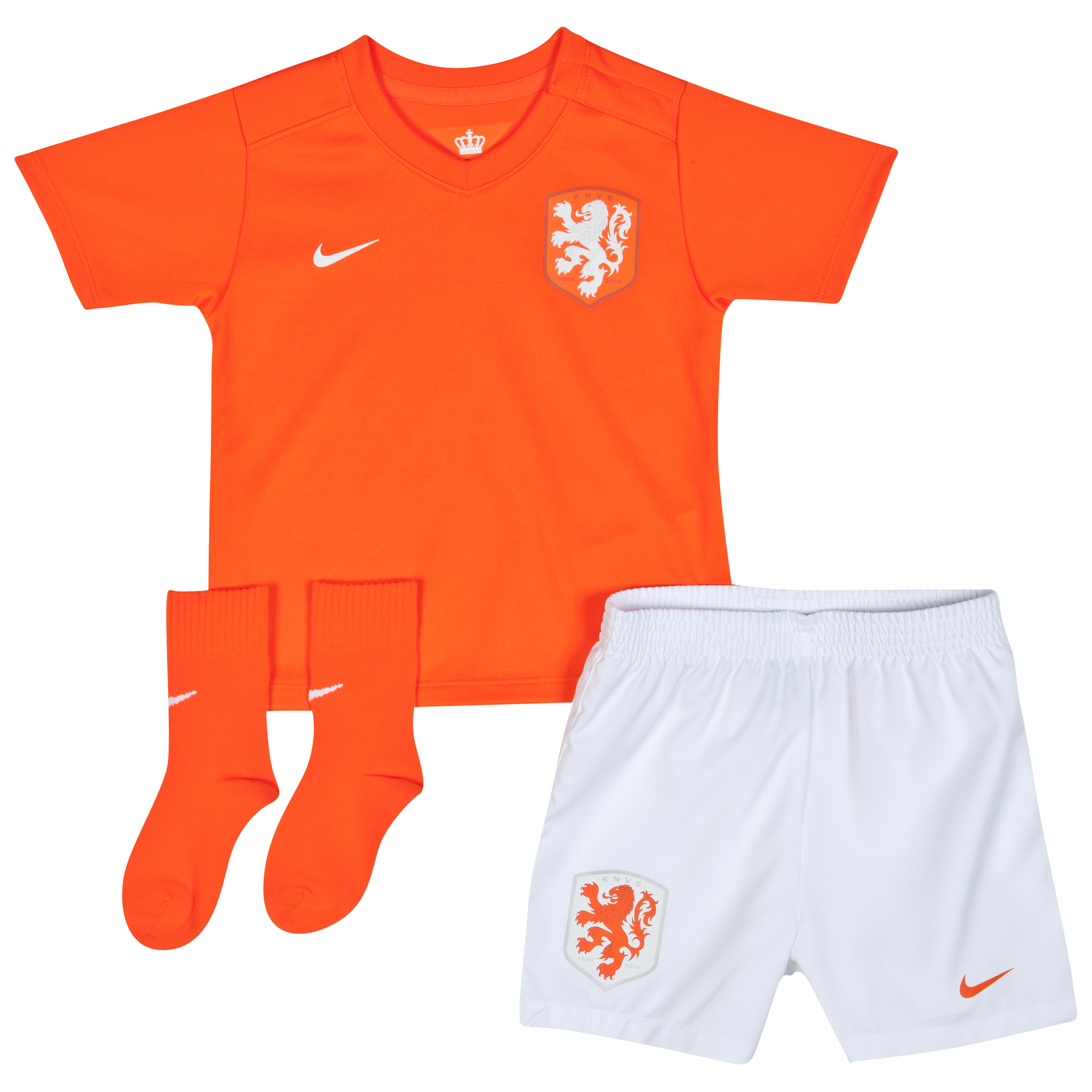 Netherlands Home Kit 2014/15 - Infants Orange