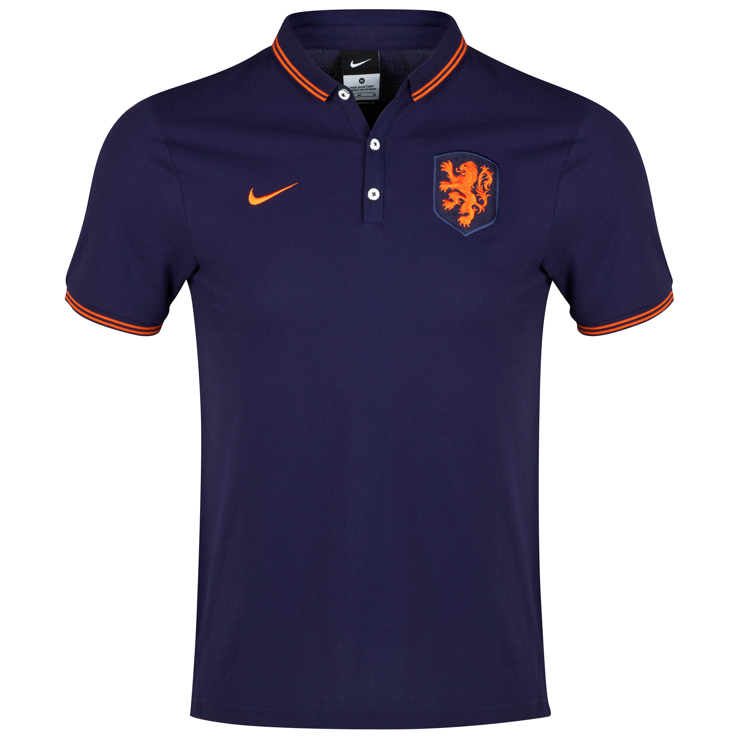 Netherlands Authentic League Polo Purple