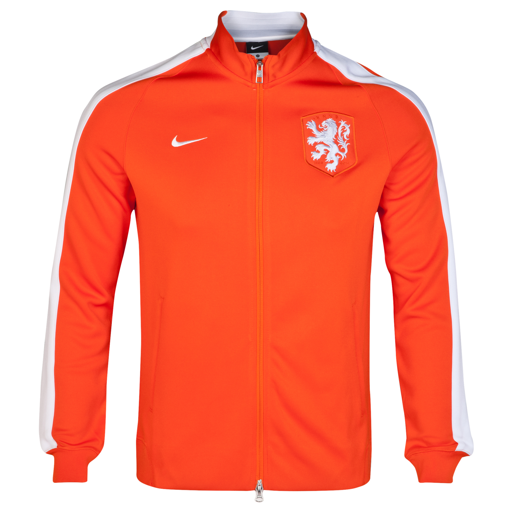 Netherlands Authentic N98 Track Jacket Orange