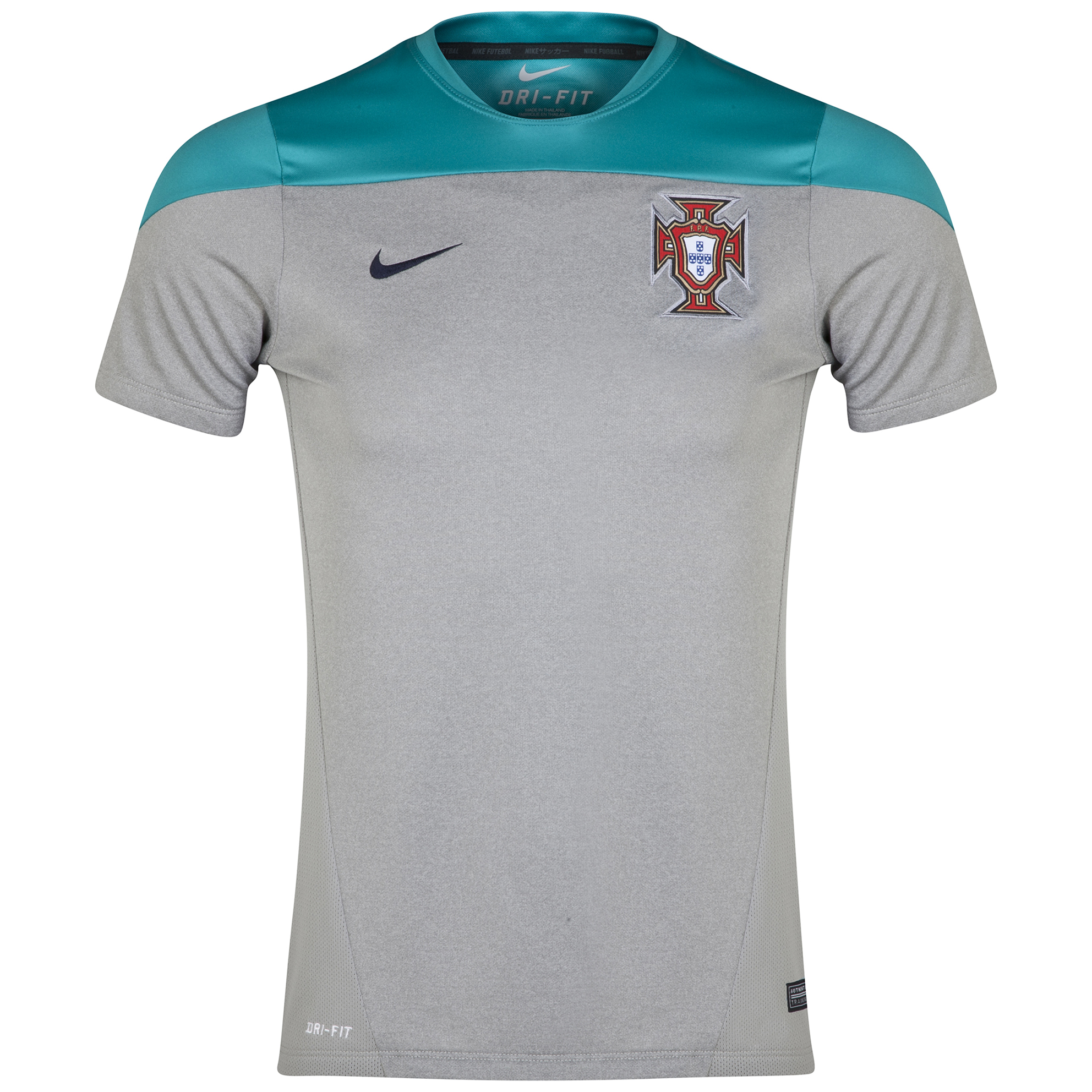 Portugal Squad Short Sleeve Training Top