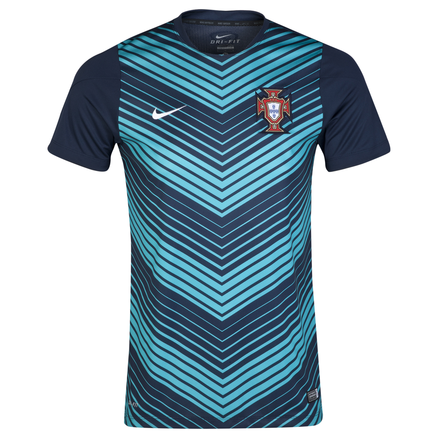 Portugal Squad Short Sleeve Pre Match Top