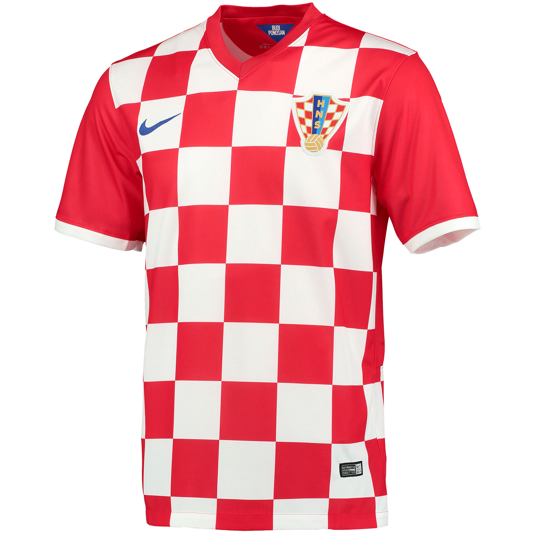 Croatia Home Shirt 2013/15 Red with Modric 10 printing