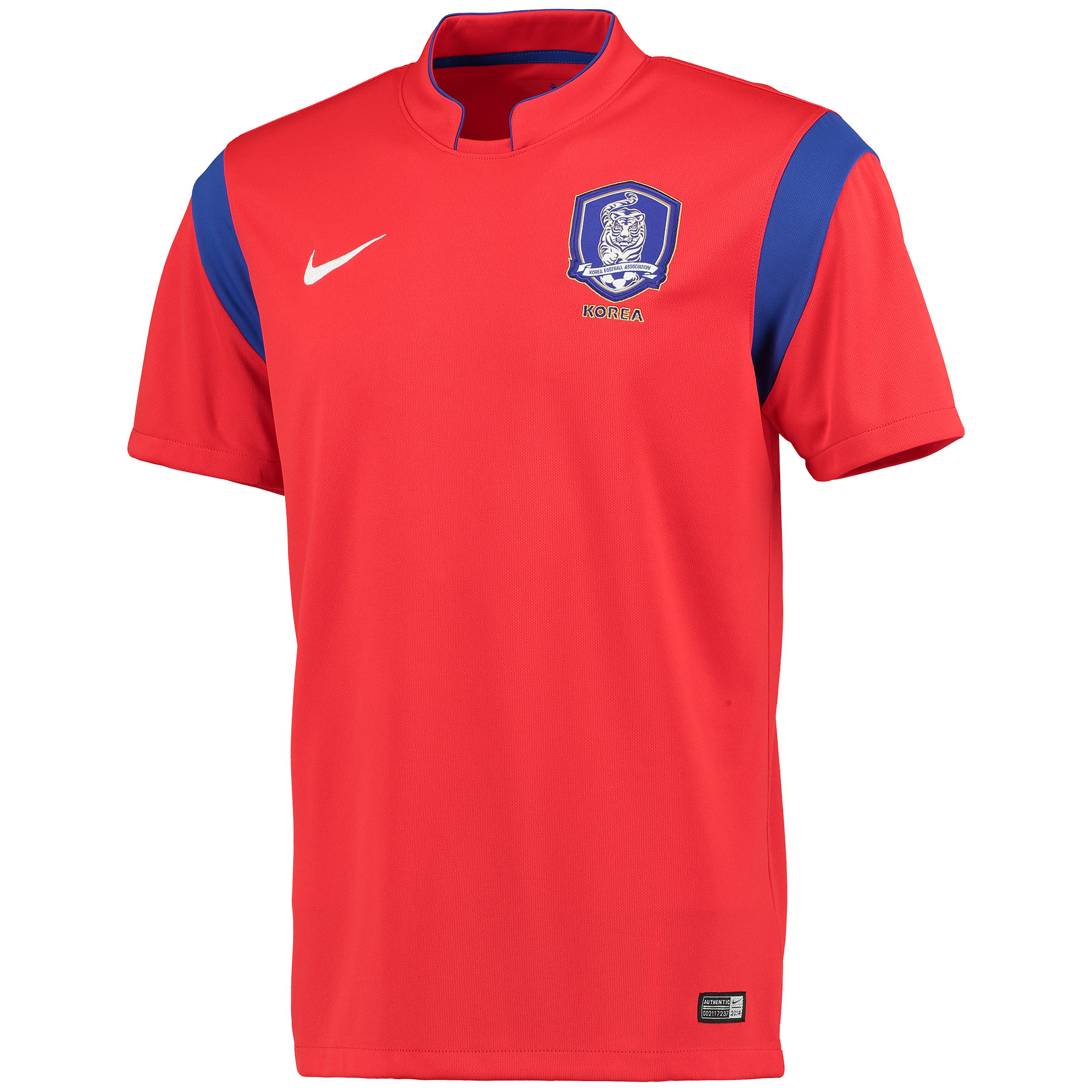 South Korea Home Shirt 2014 Red Red