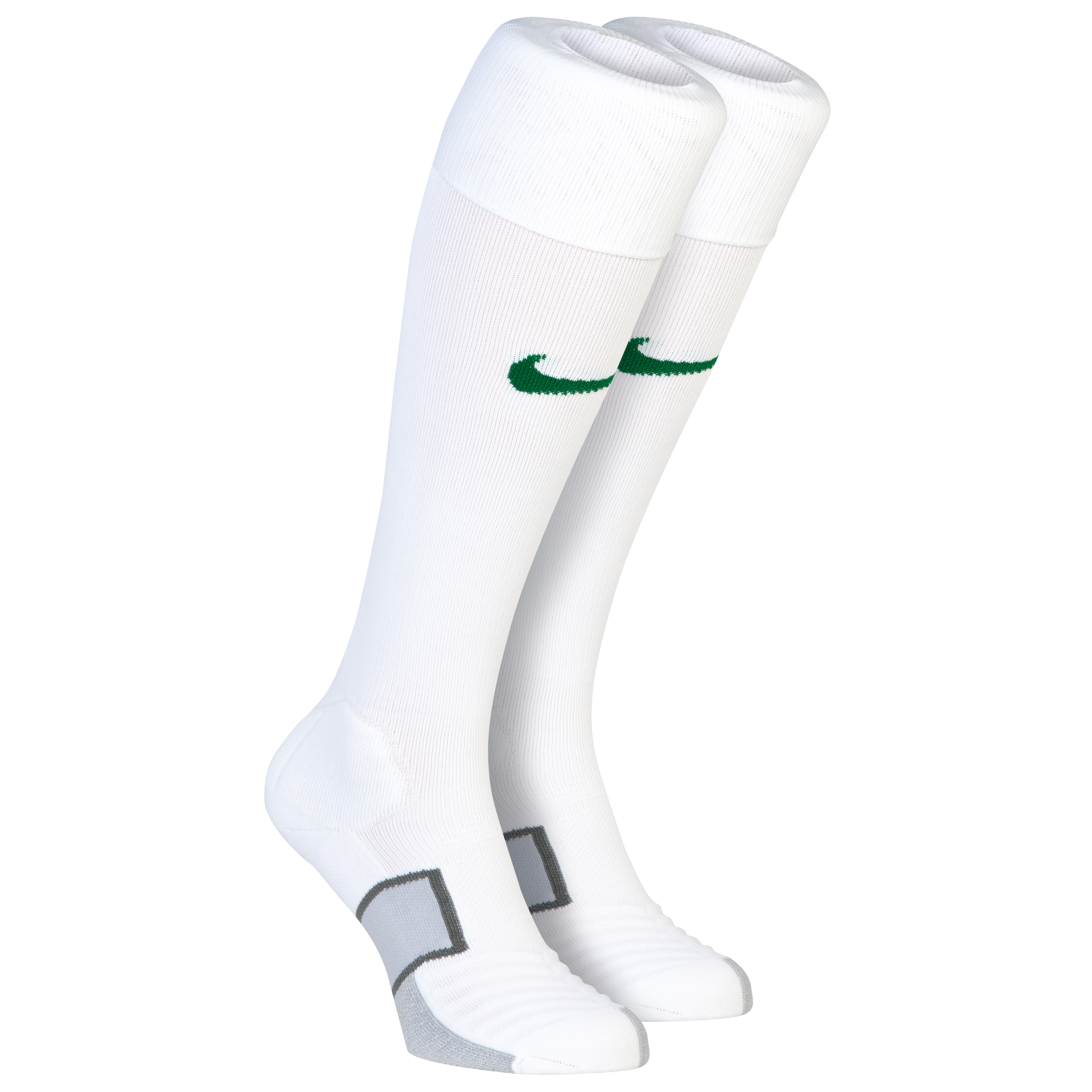 Brazil Home/Away Sock 2013/14 White