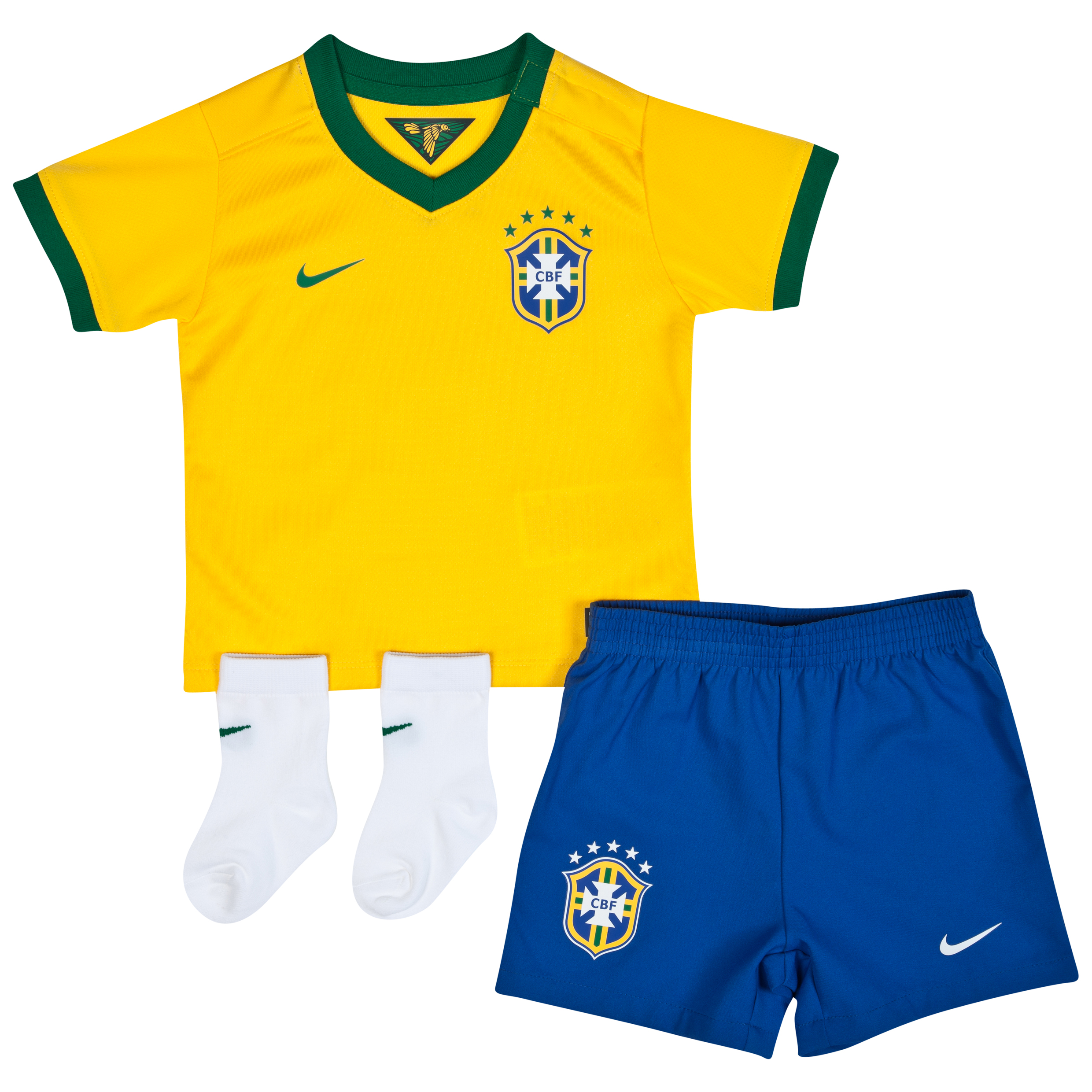 Brazil Home Kit 2013/14 - Little Boys Yellow