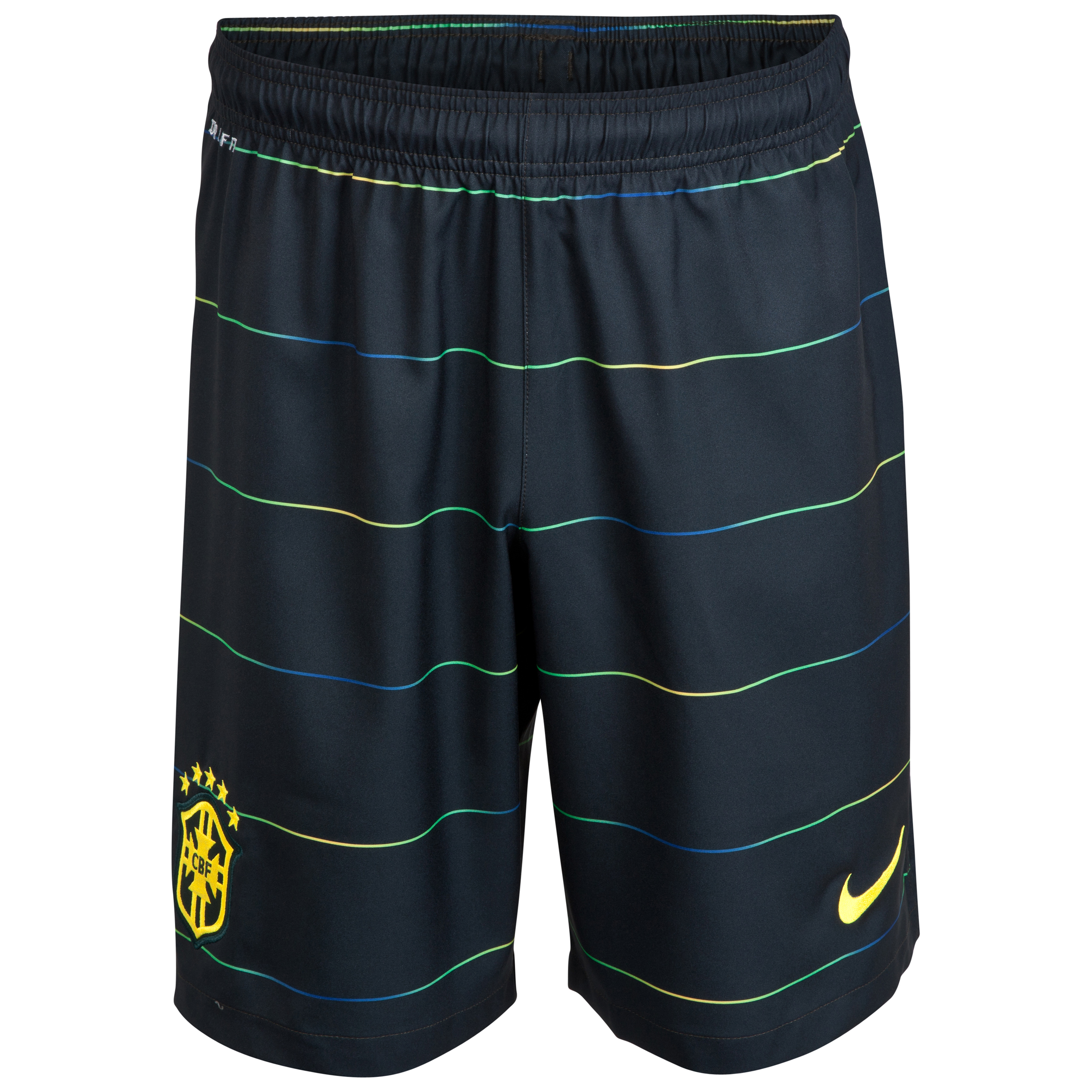 Brazil Third Short 2014 - Kids Black