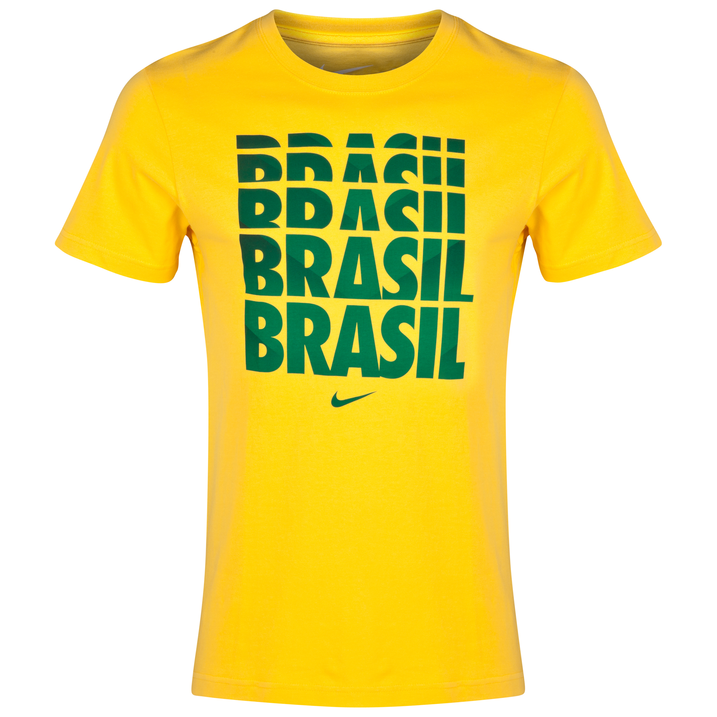 Brazil Core Type T-Shirt Yellow