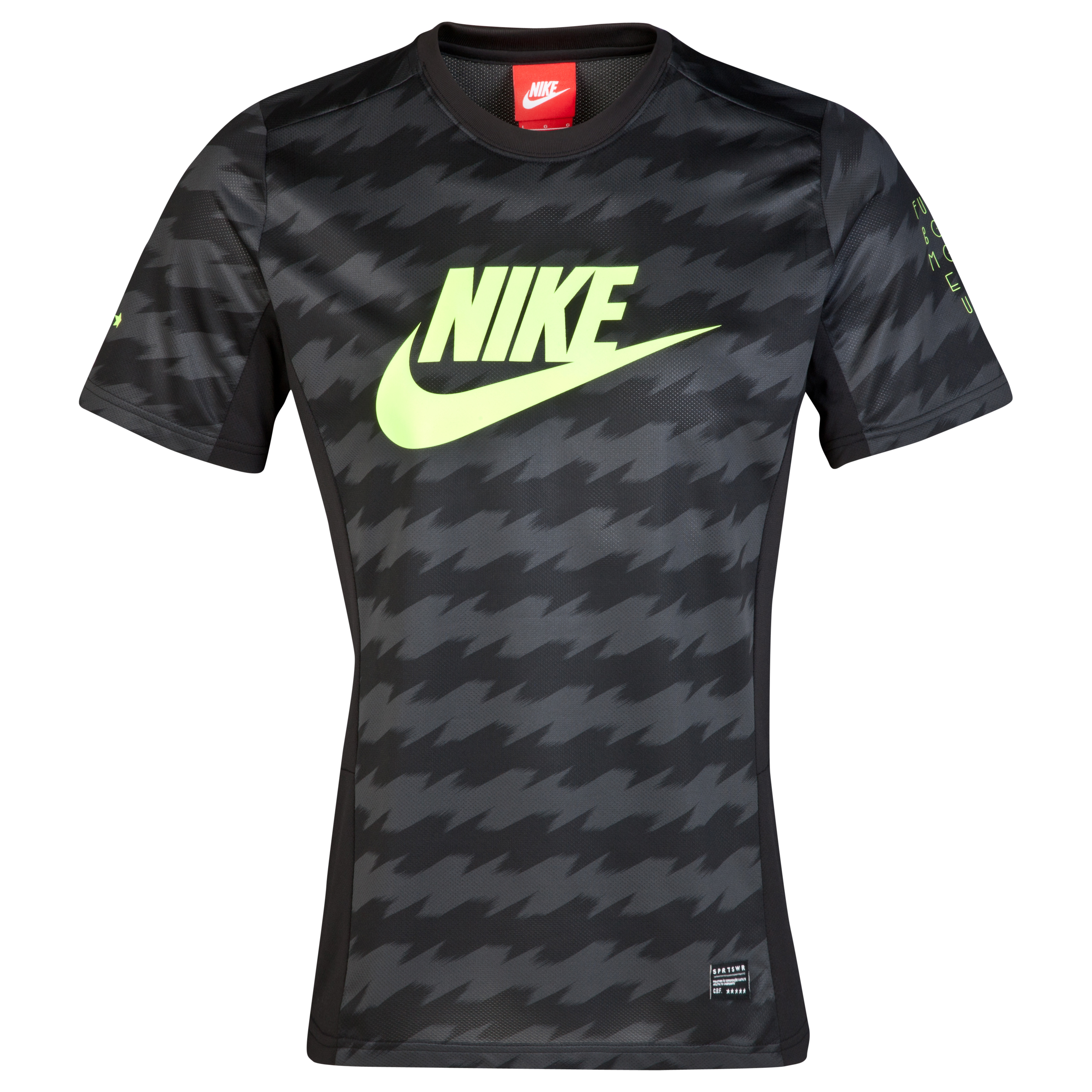Brazil Third Fusion Top Black