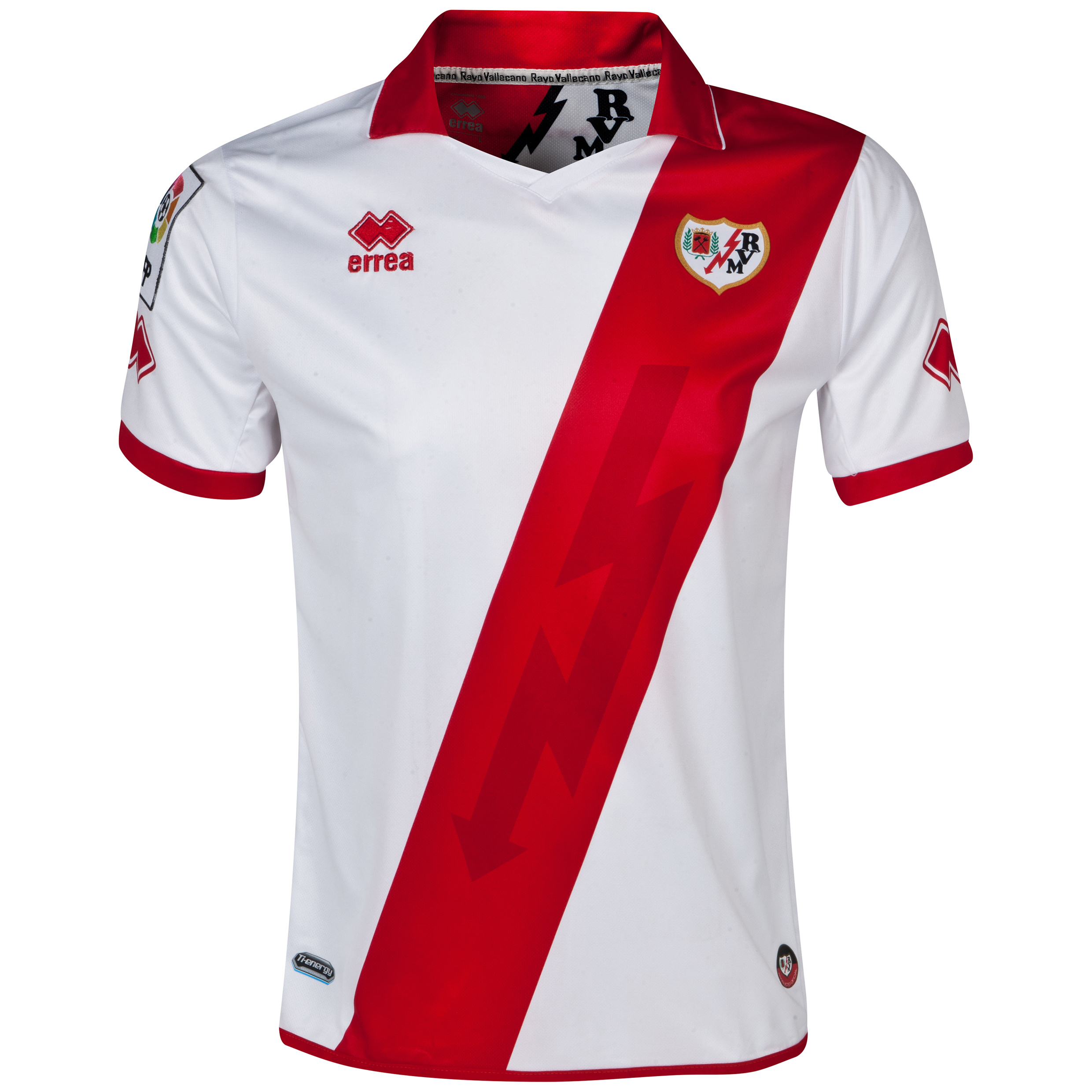Rayo Vallecano Home Shirt 2013/14