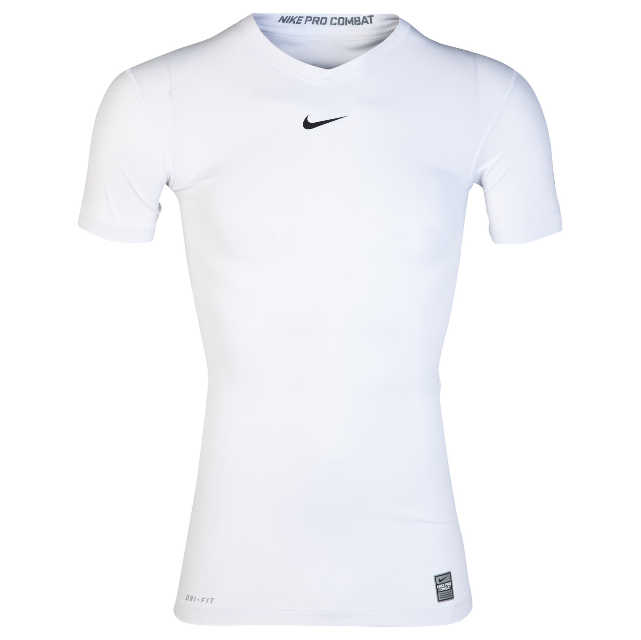 Nike Pro Combat Ultralight Base Layer Top White