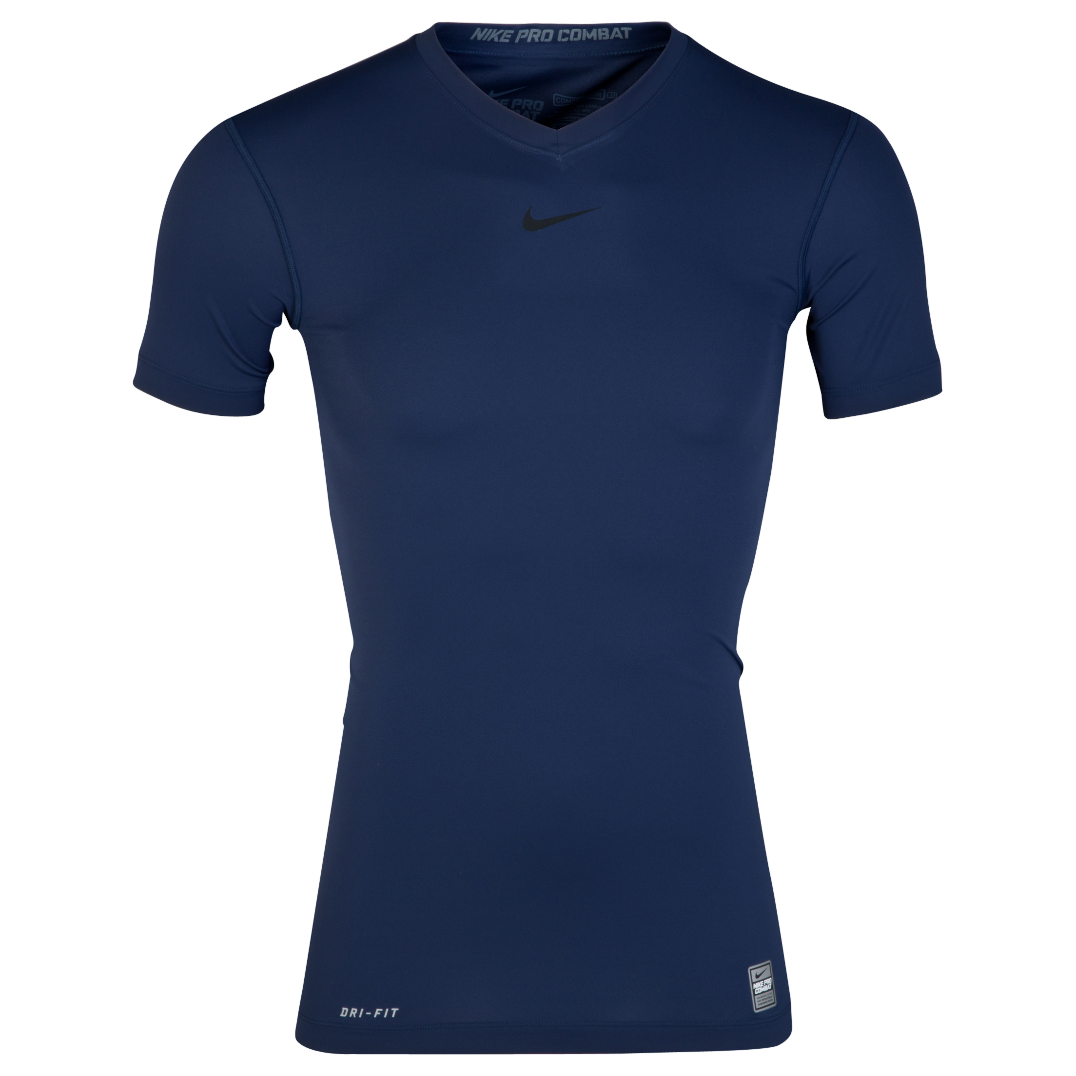 Nike Pro Combat Ultralight Base Layer Top Navy