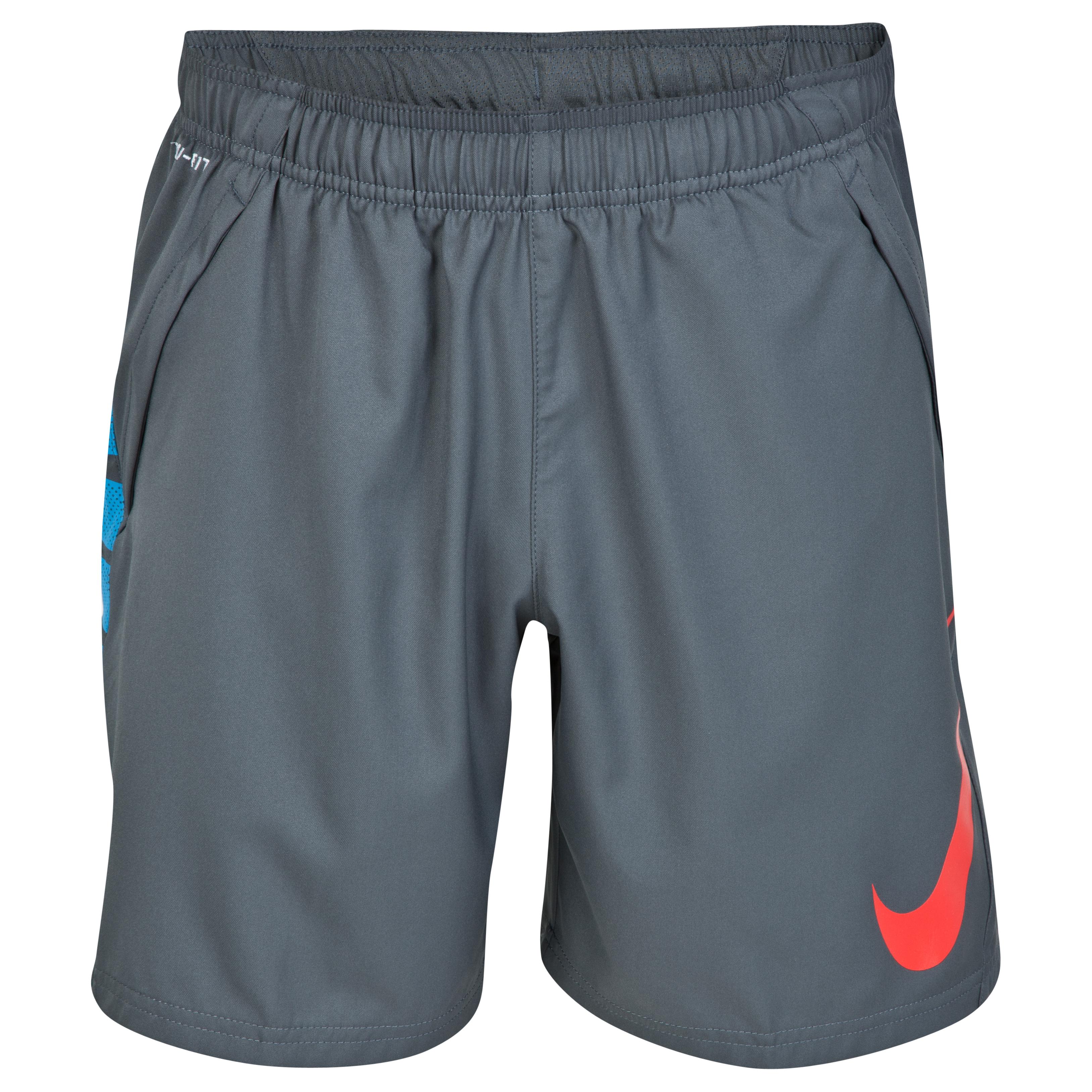 Nike Gpx Woven Training Short Dk Grey