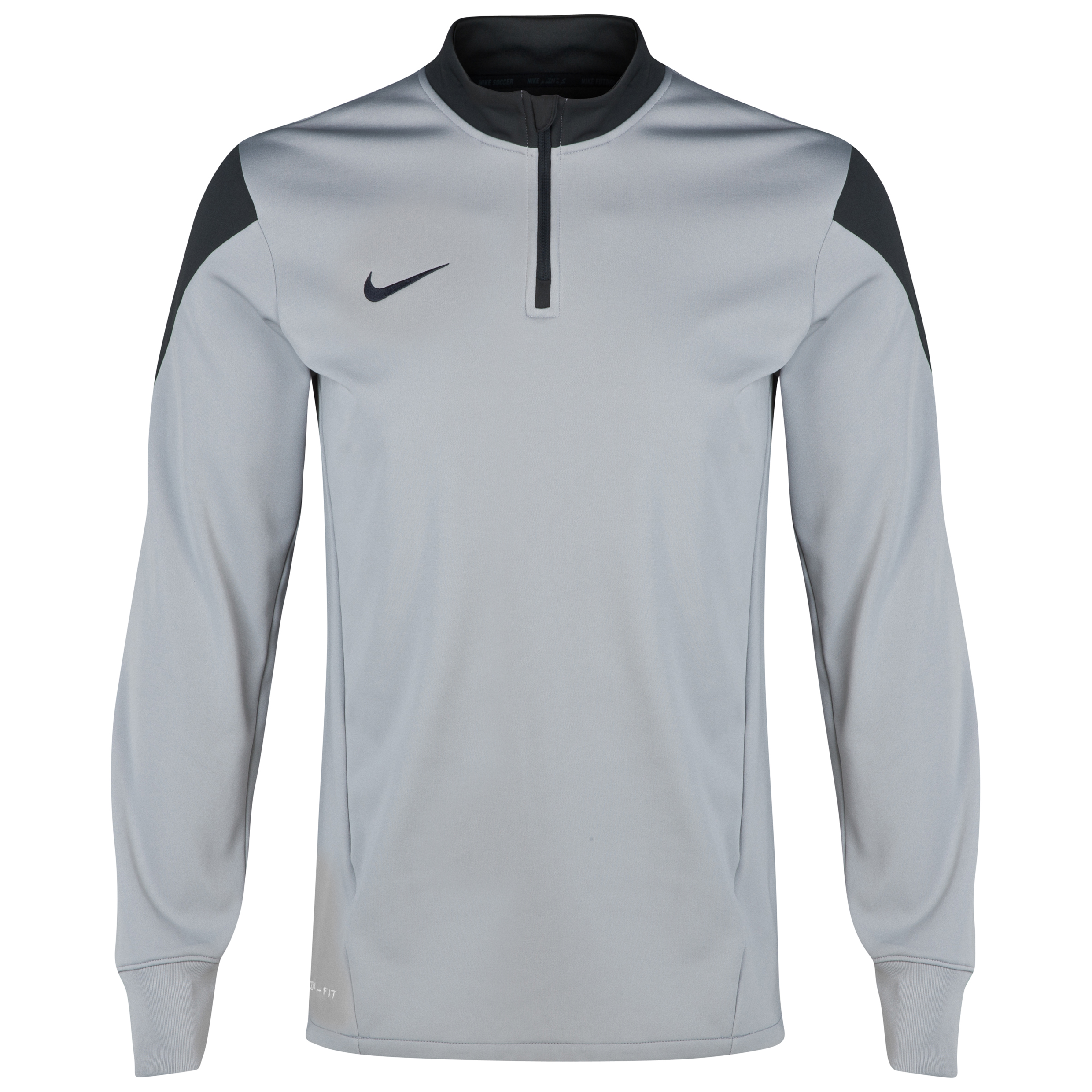 Nike Squad Ls Midlayer Top Silver