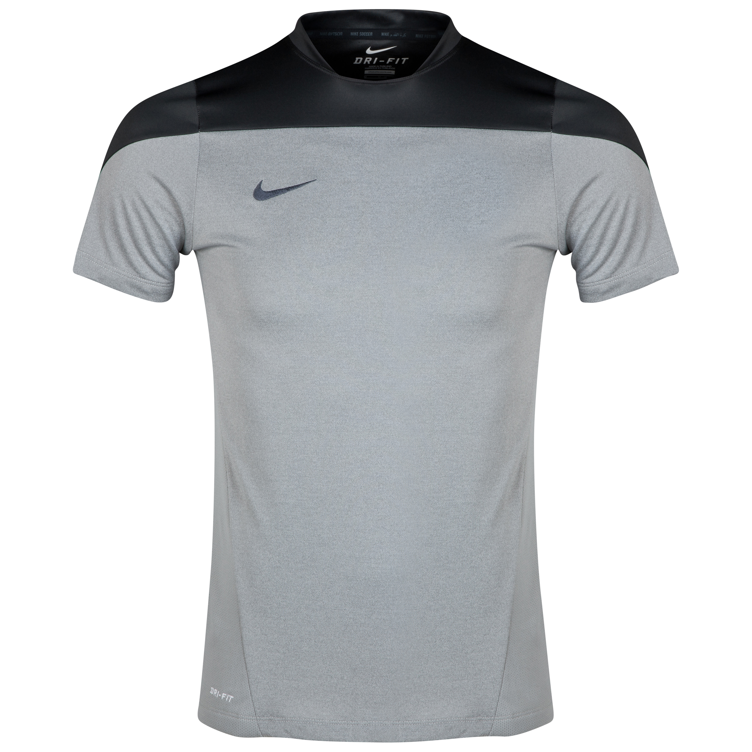 Nike Squad True Heather Training Top Dk Grey