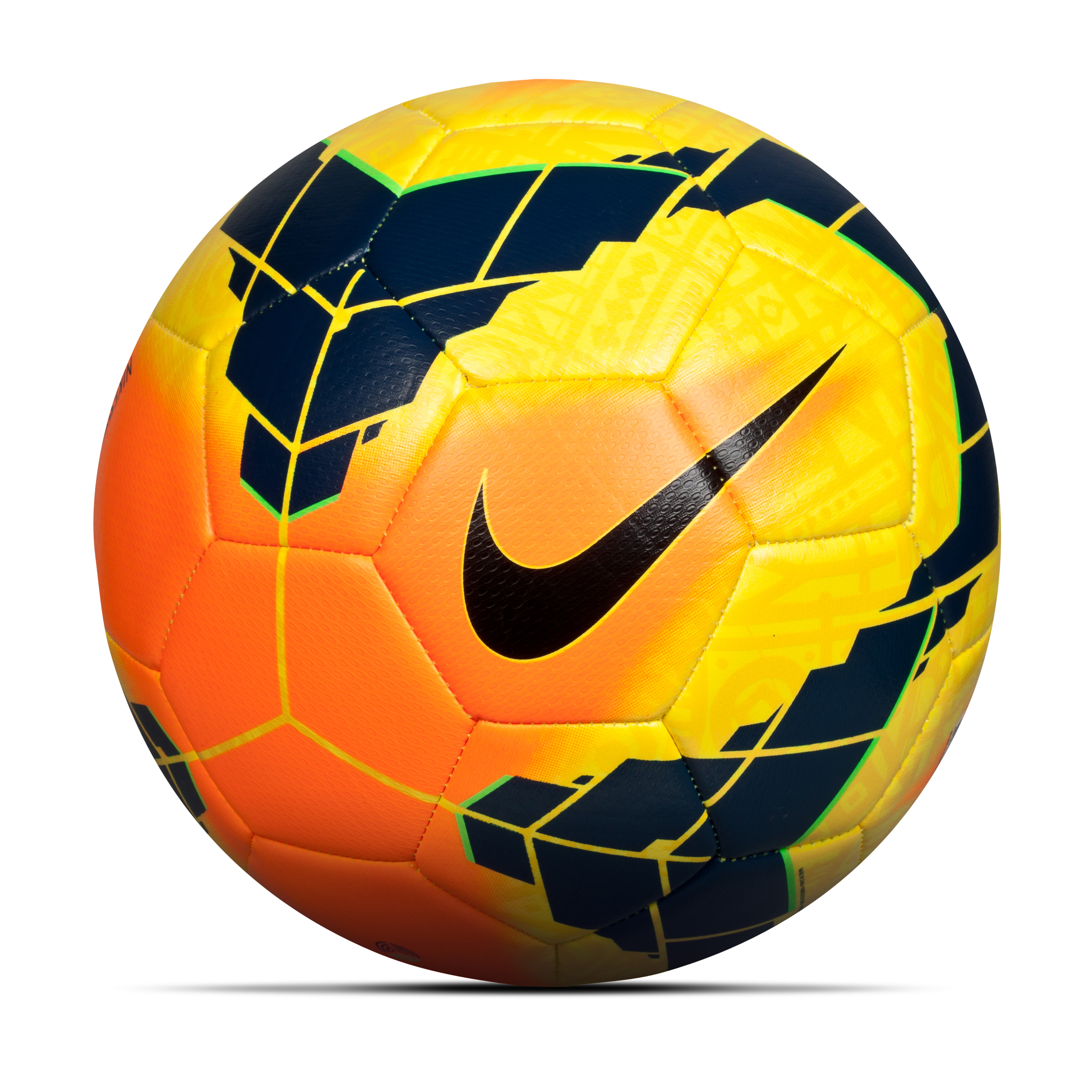 Nike Ordem Strike Football Yellow