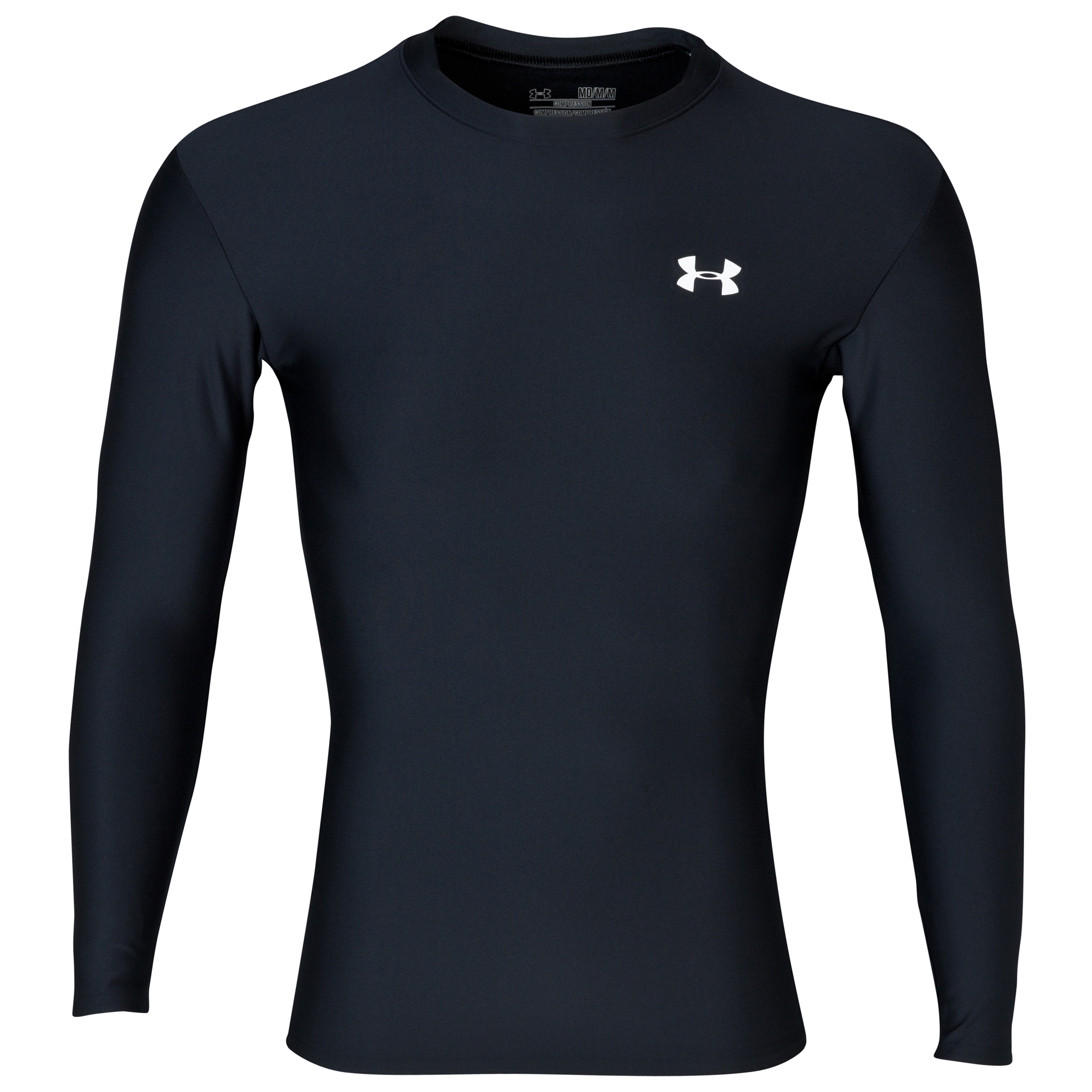 Under Armour Evo Coldgear crew 11 Base Layer Top - Long Sleeve Black