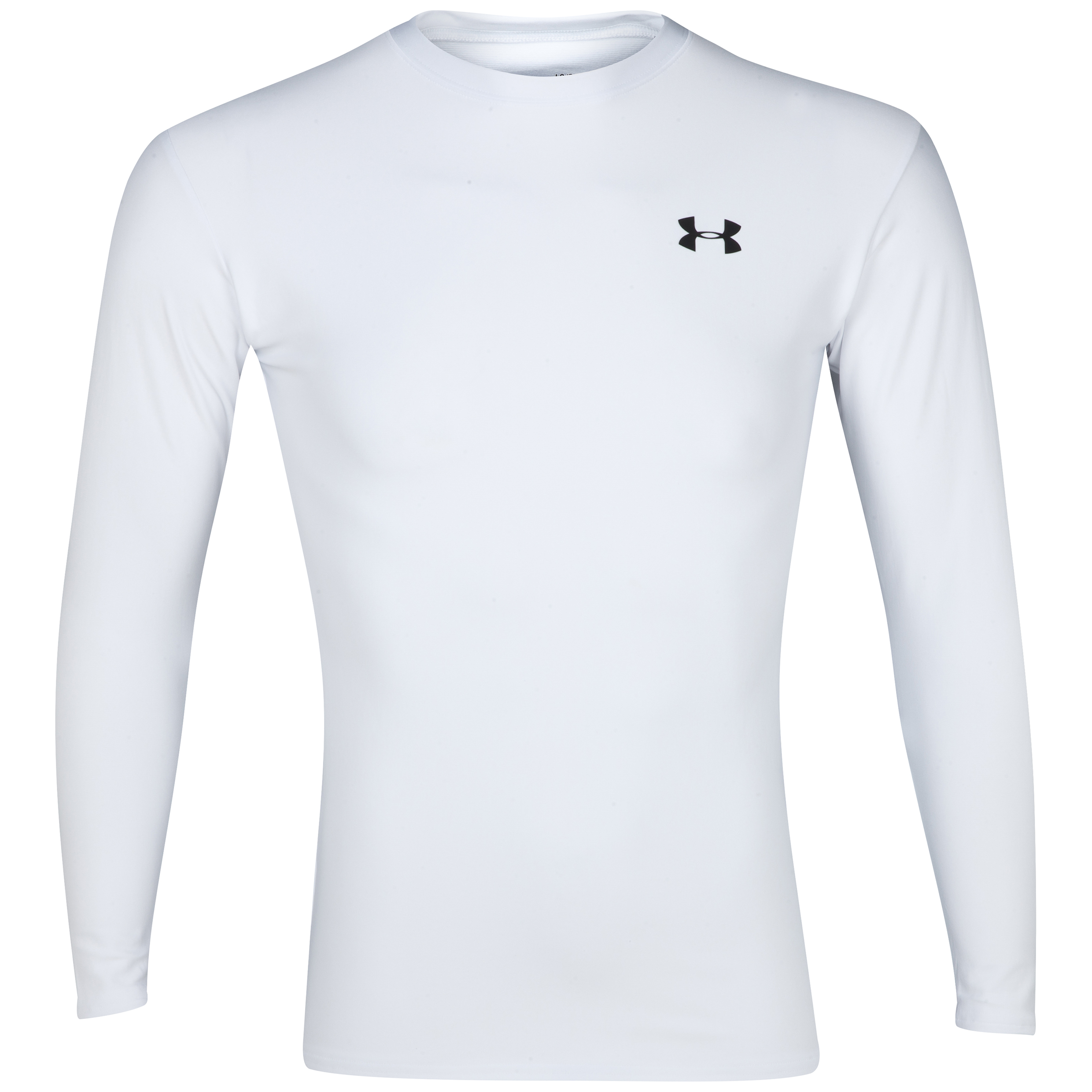 Under Armour Evo Coldgear crew 11 Base Layer Top - Long Sleeve White