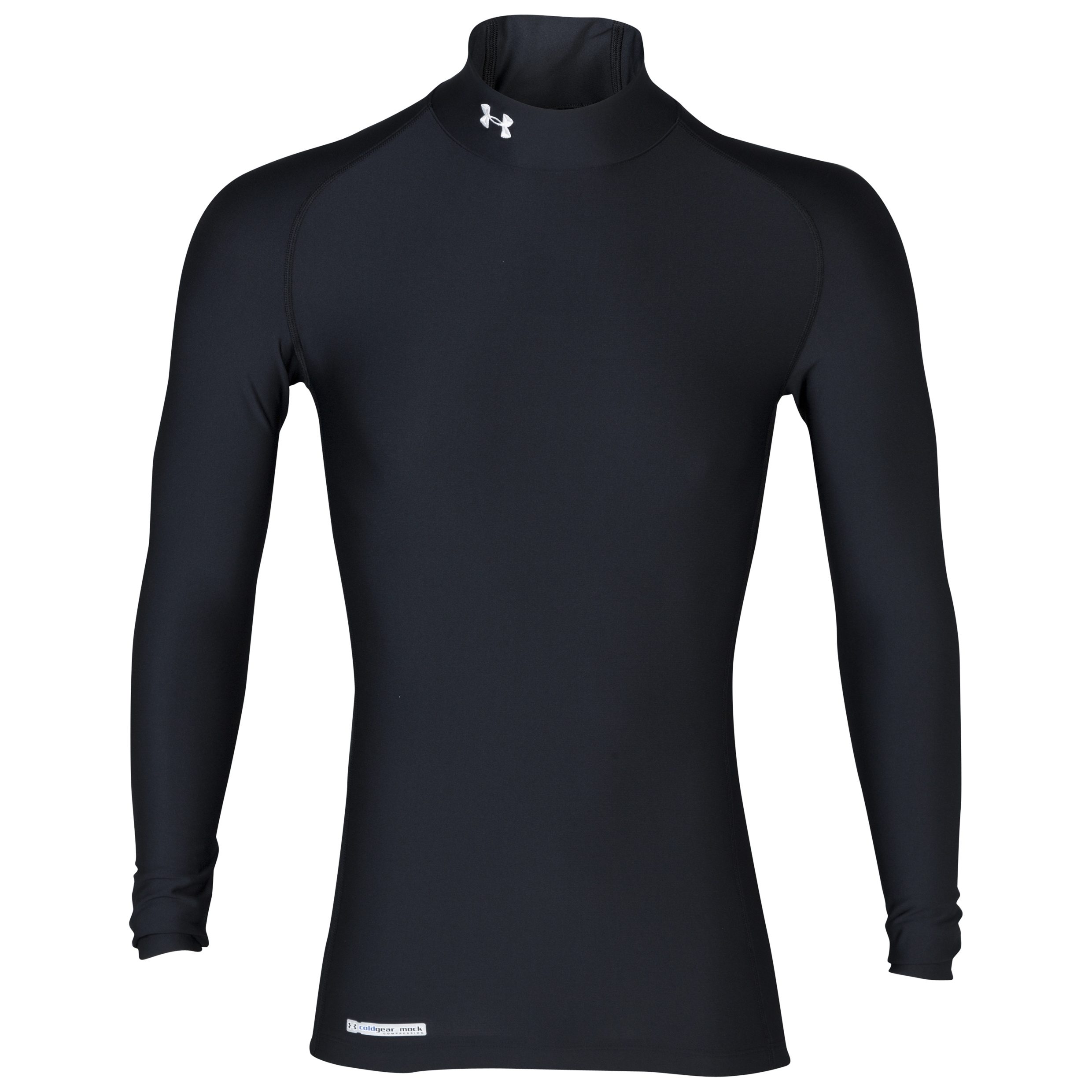 Under Armour Evo Coldgear mock Base Layer Top - Long Sleeve Black